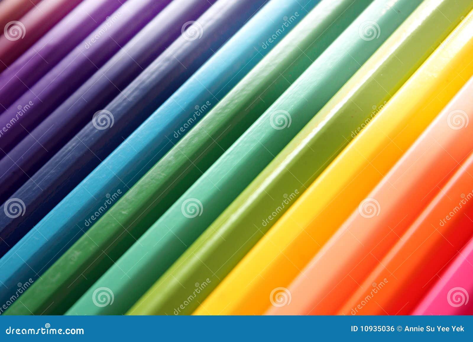 абстрактные карандаши цвета