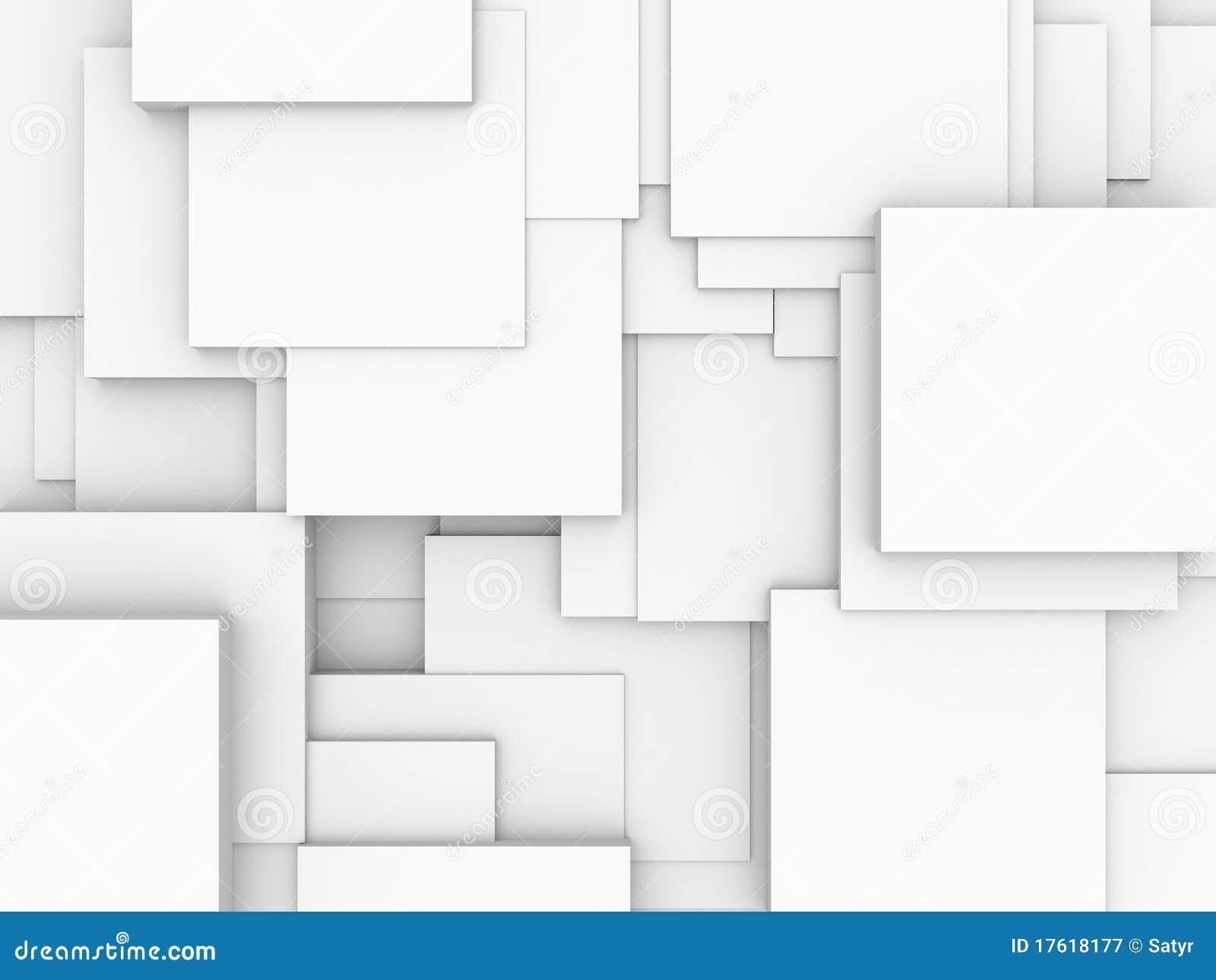 абстрактные кубики предпосылки