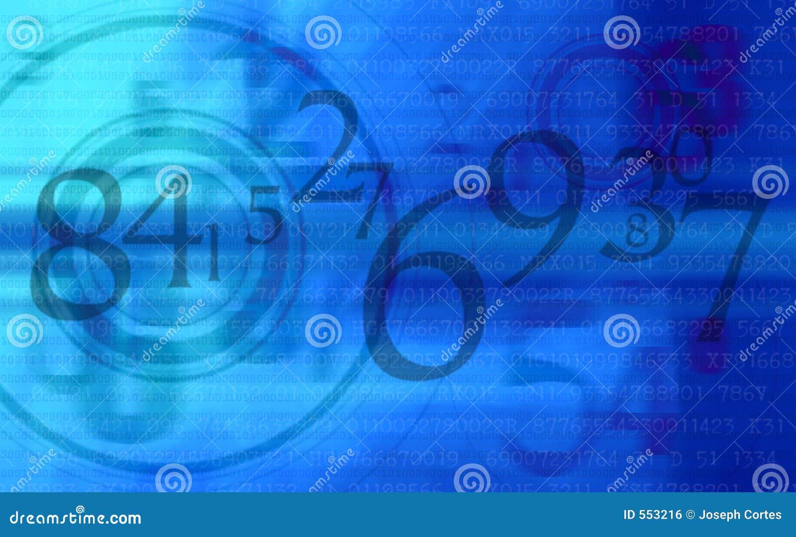 абстрактные номера сини предпосылки