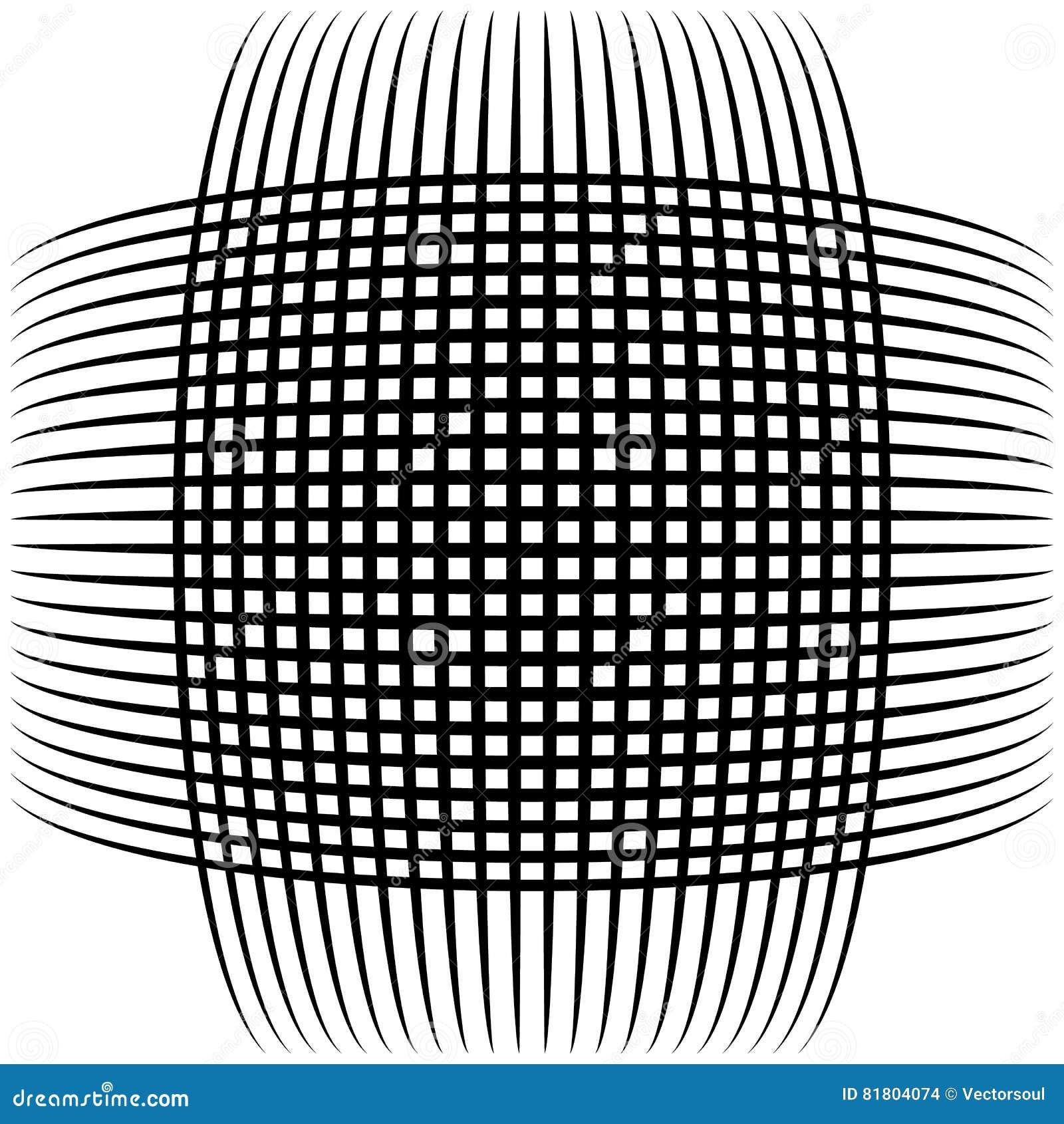 Абстрактные пересекая линии, картина отверстия щетки