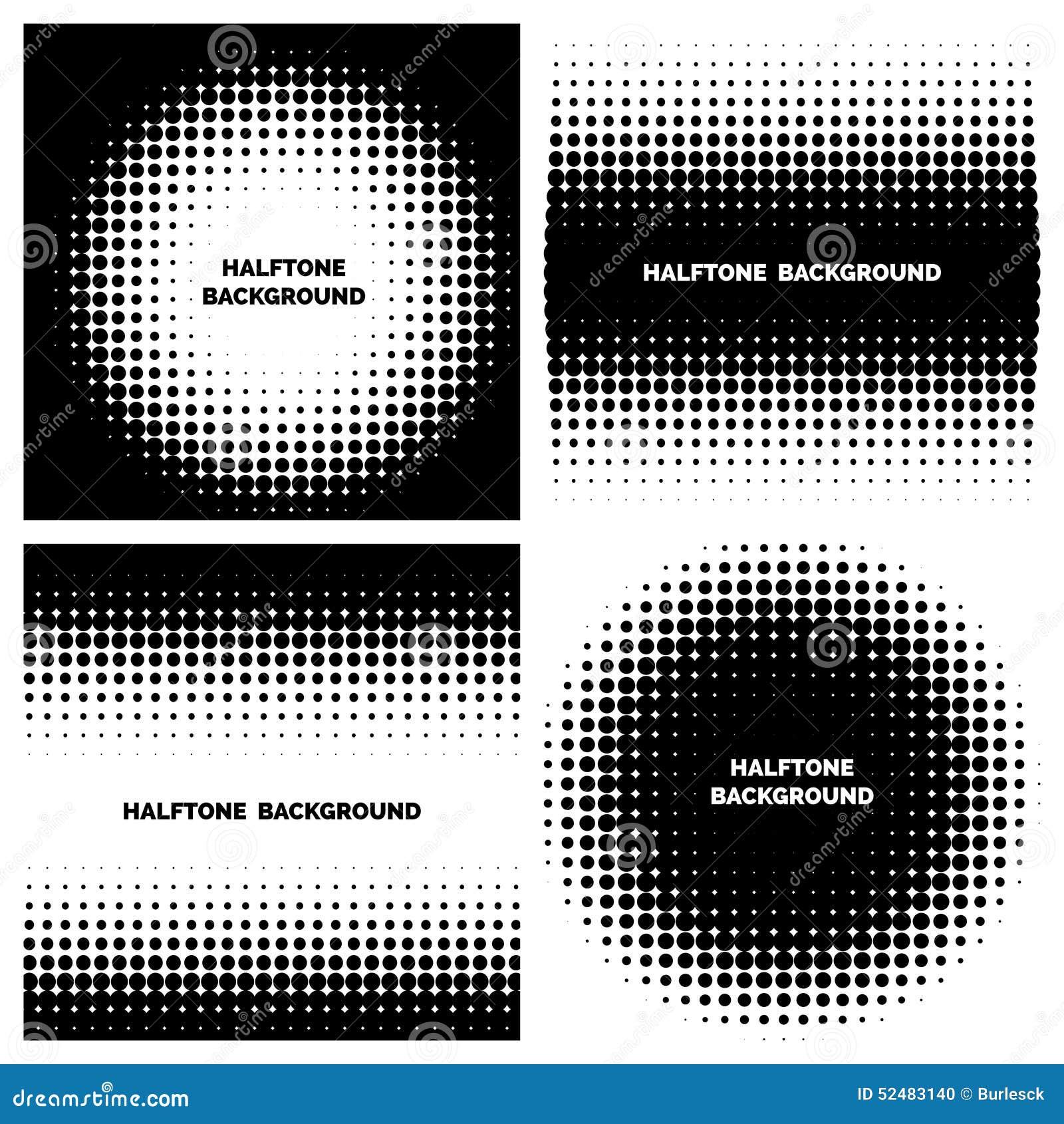 Абстрактные предпосылки полутонового изображения с текстом