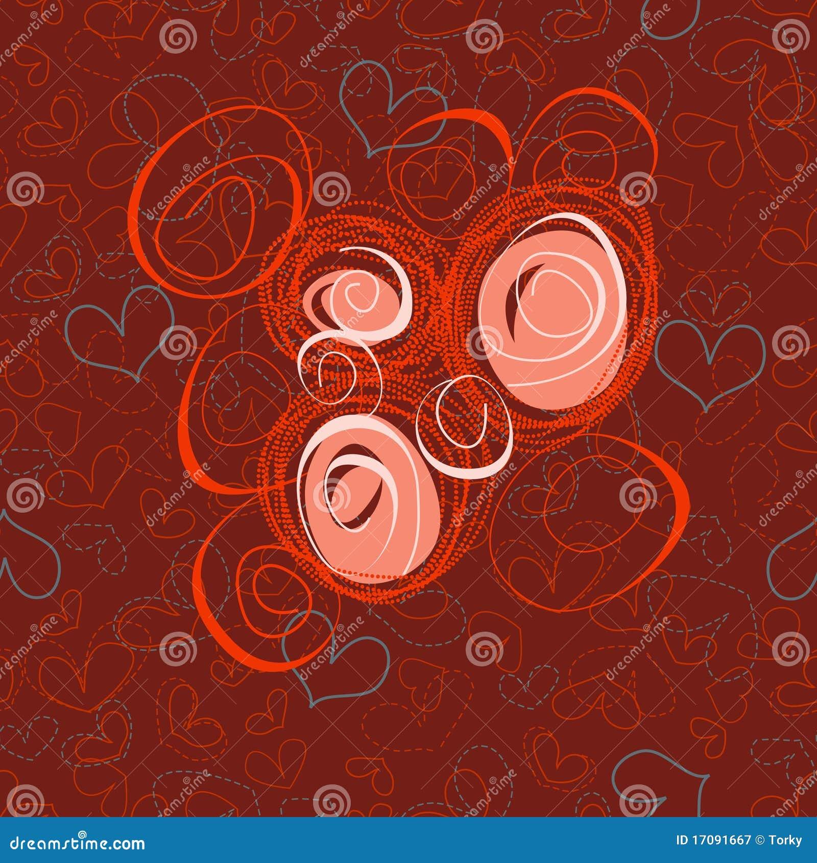 абстрактные розы