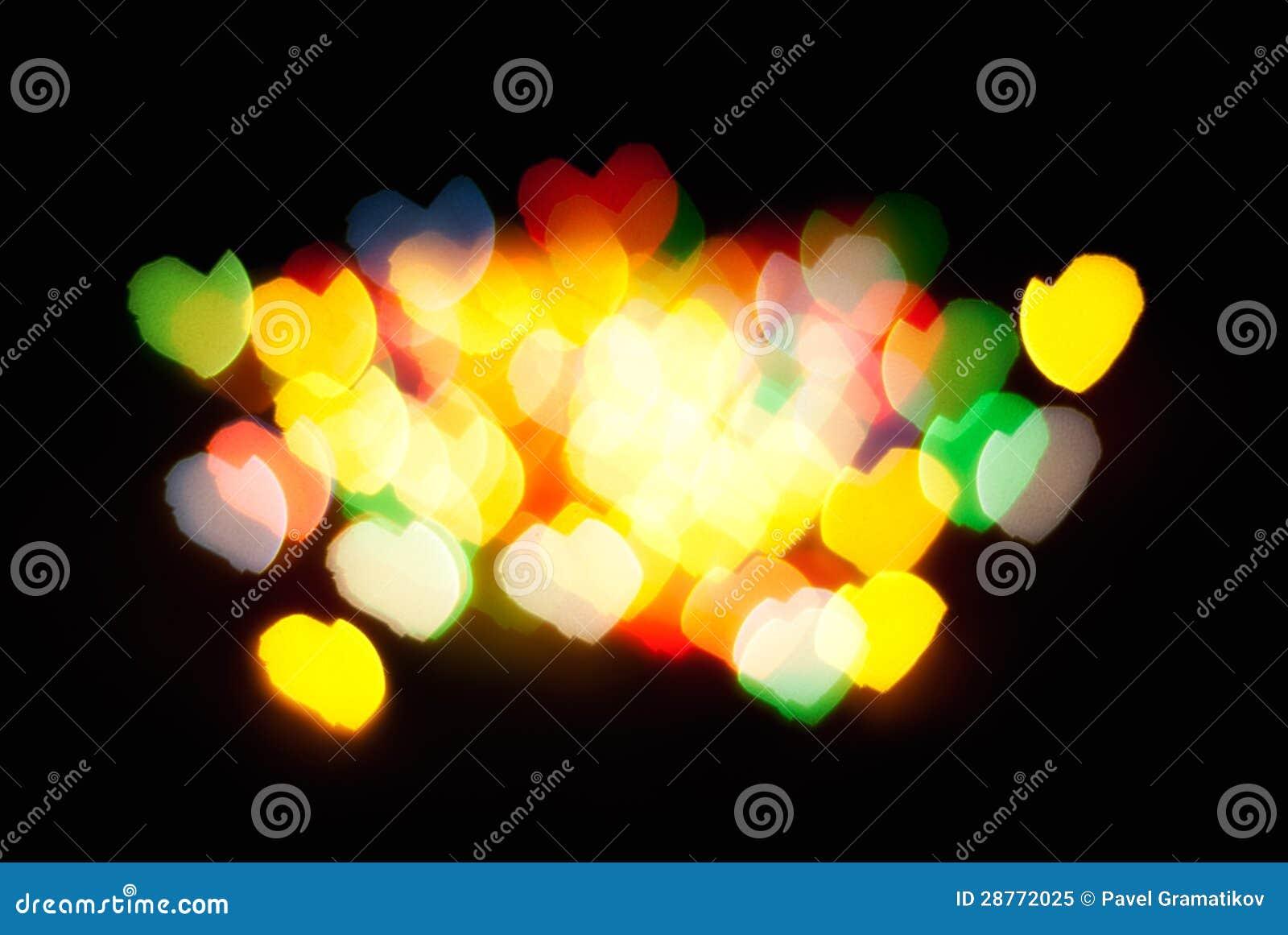 Абстрактные света сердца