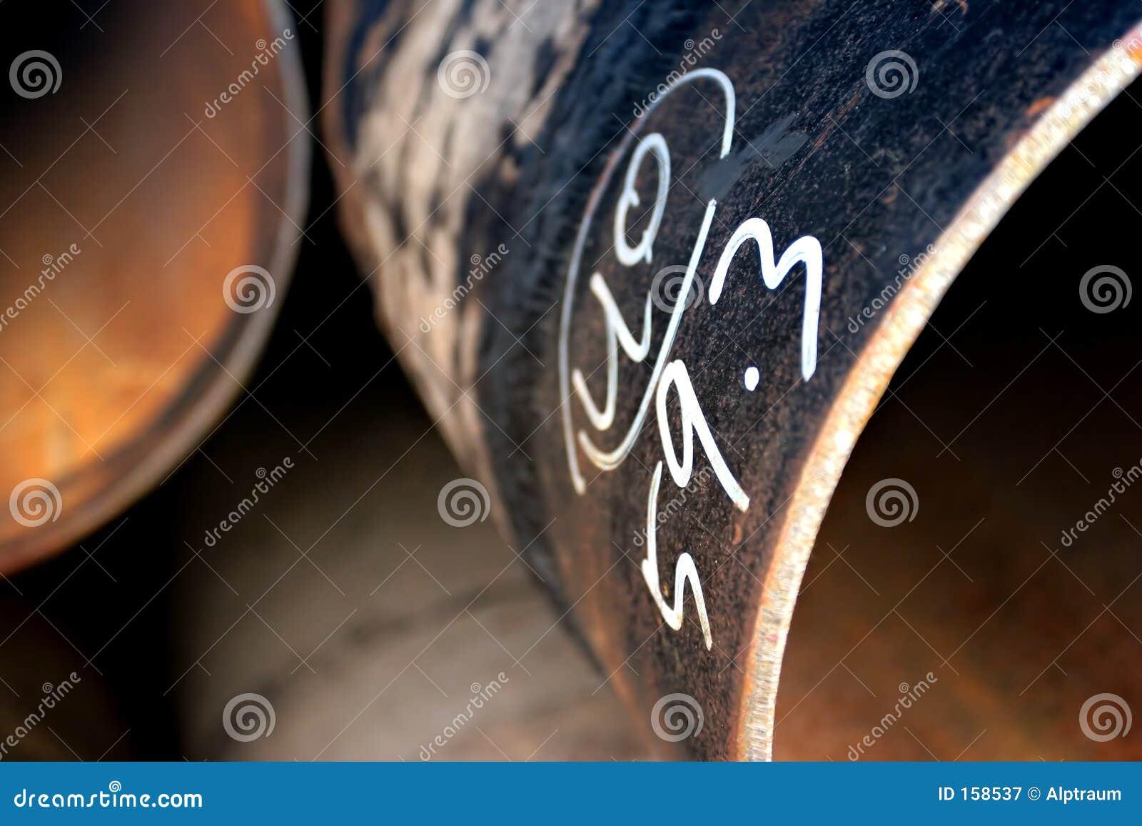 абстрактные трубы стальные