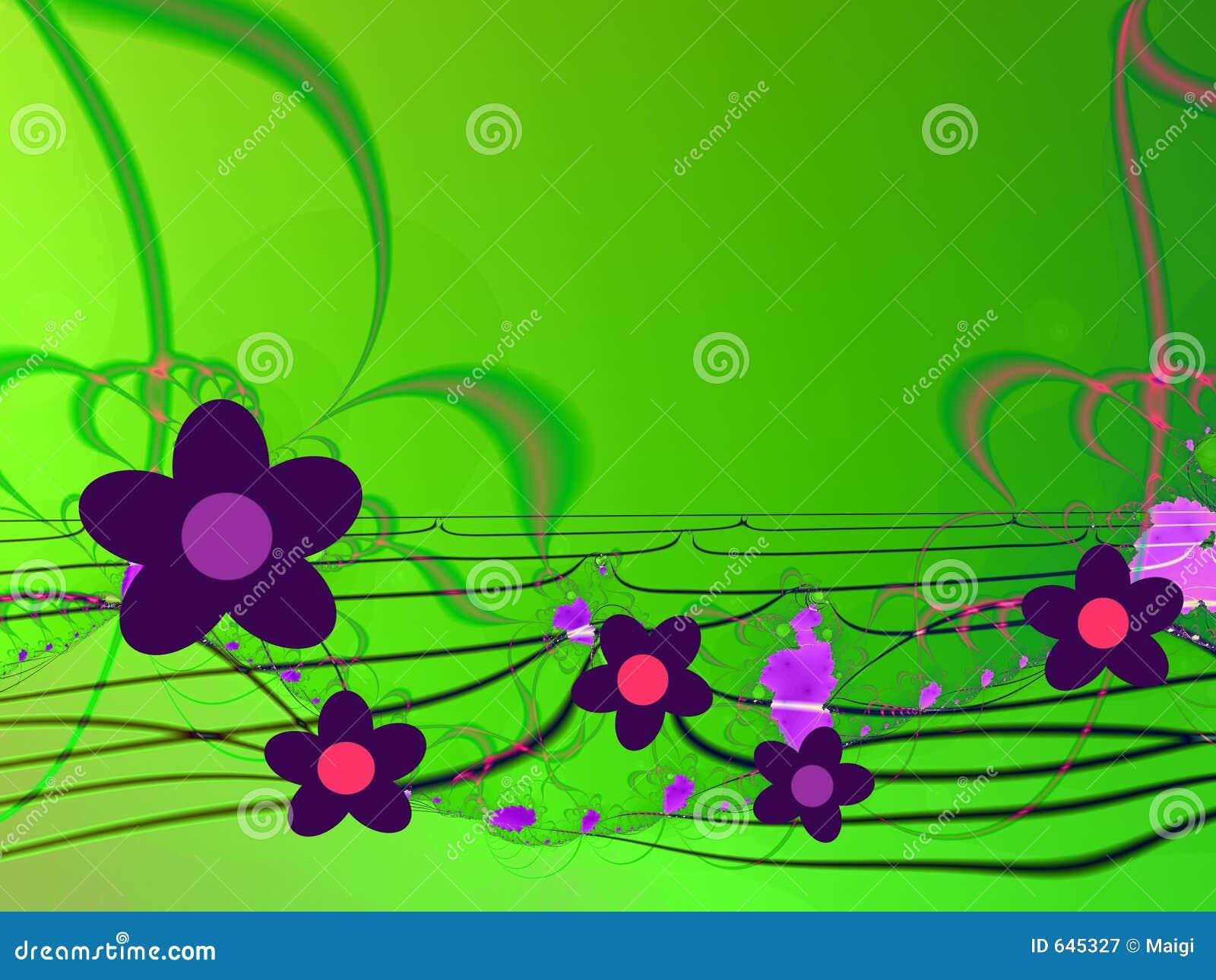 Download абстрактные цветки предпосылки Иллюстрация штока - иллюстрации насчитывающей линия, concept: 645327