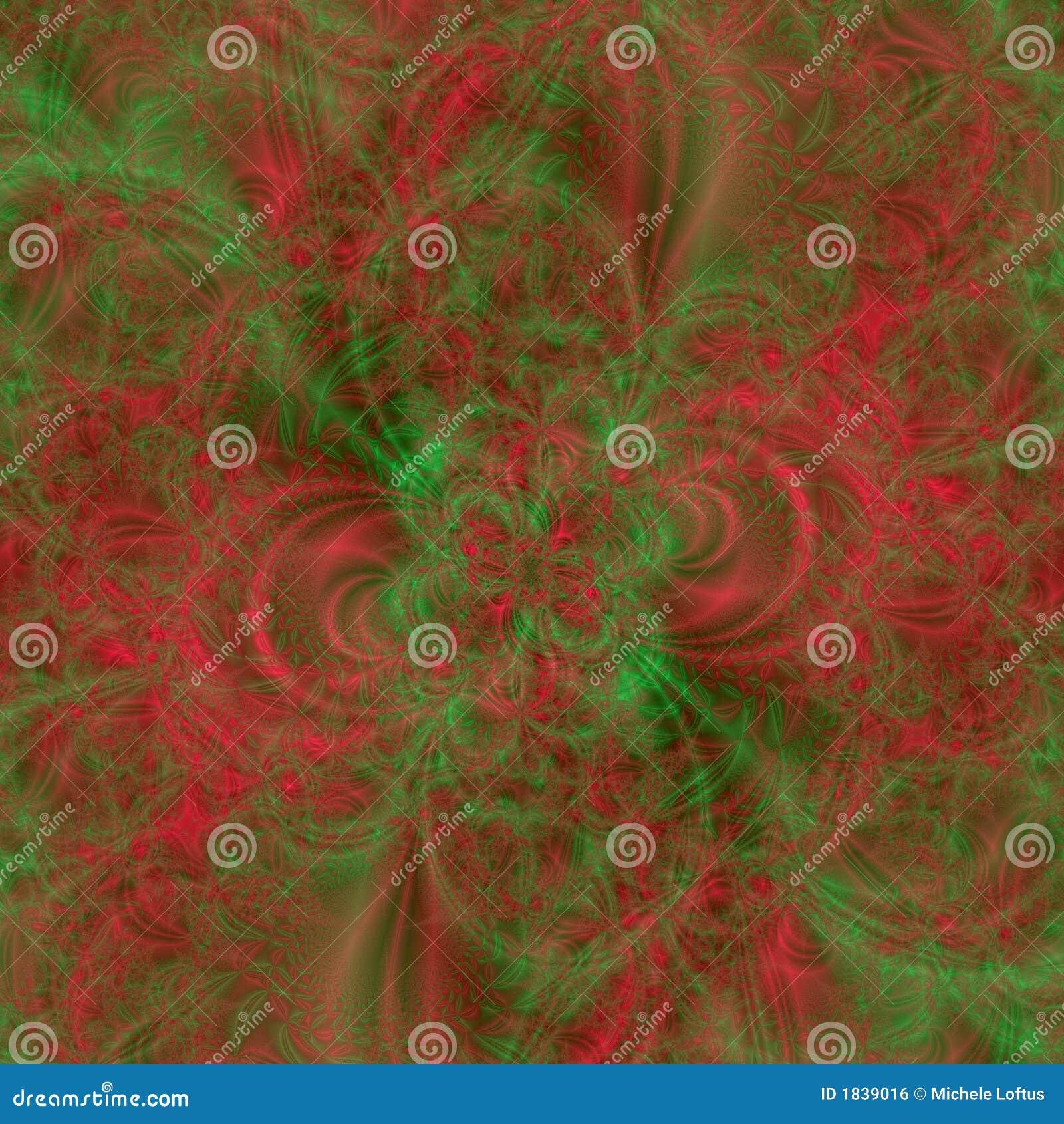 абстрактные цветы backgroun конструируют зеленый шаблон красного цвета праздника