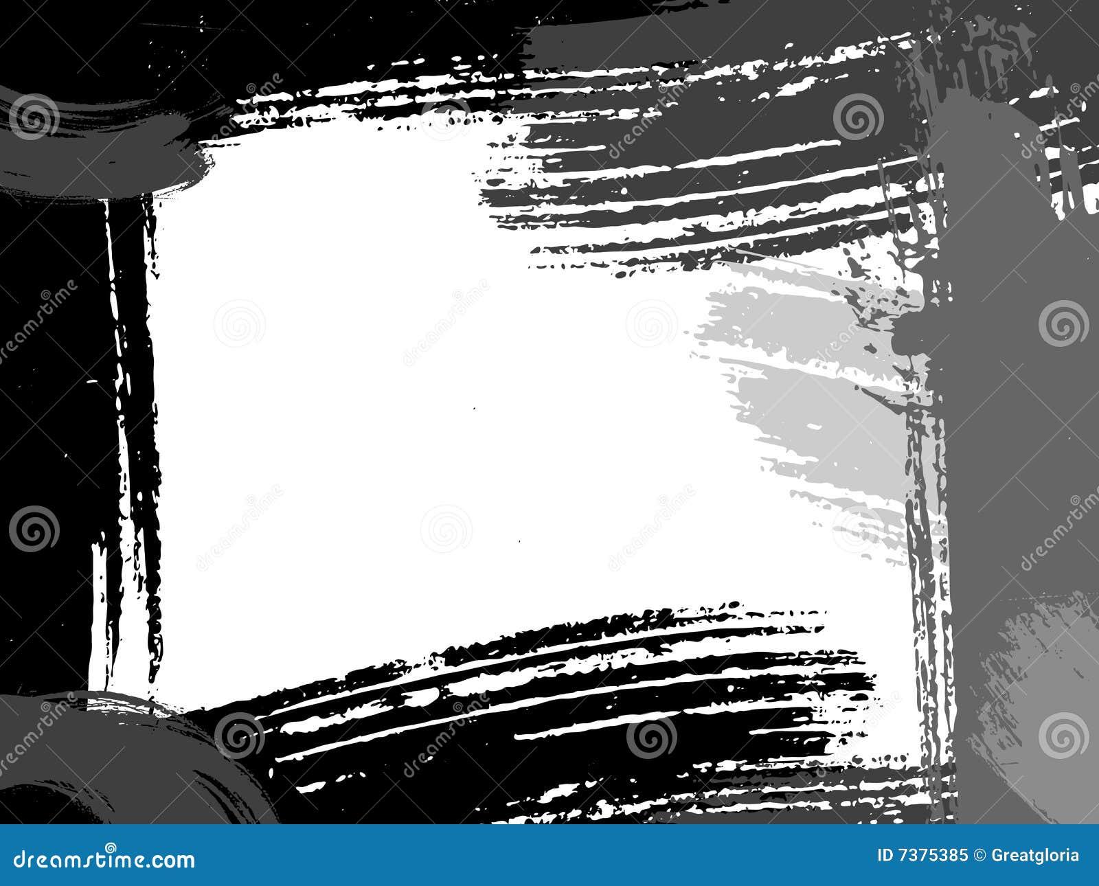 абстрактный вектор grunge рамки