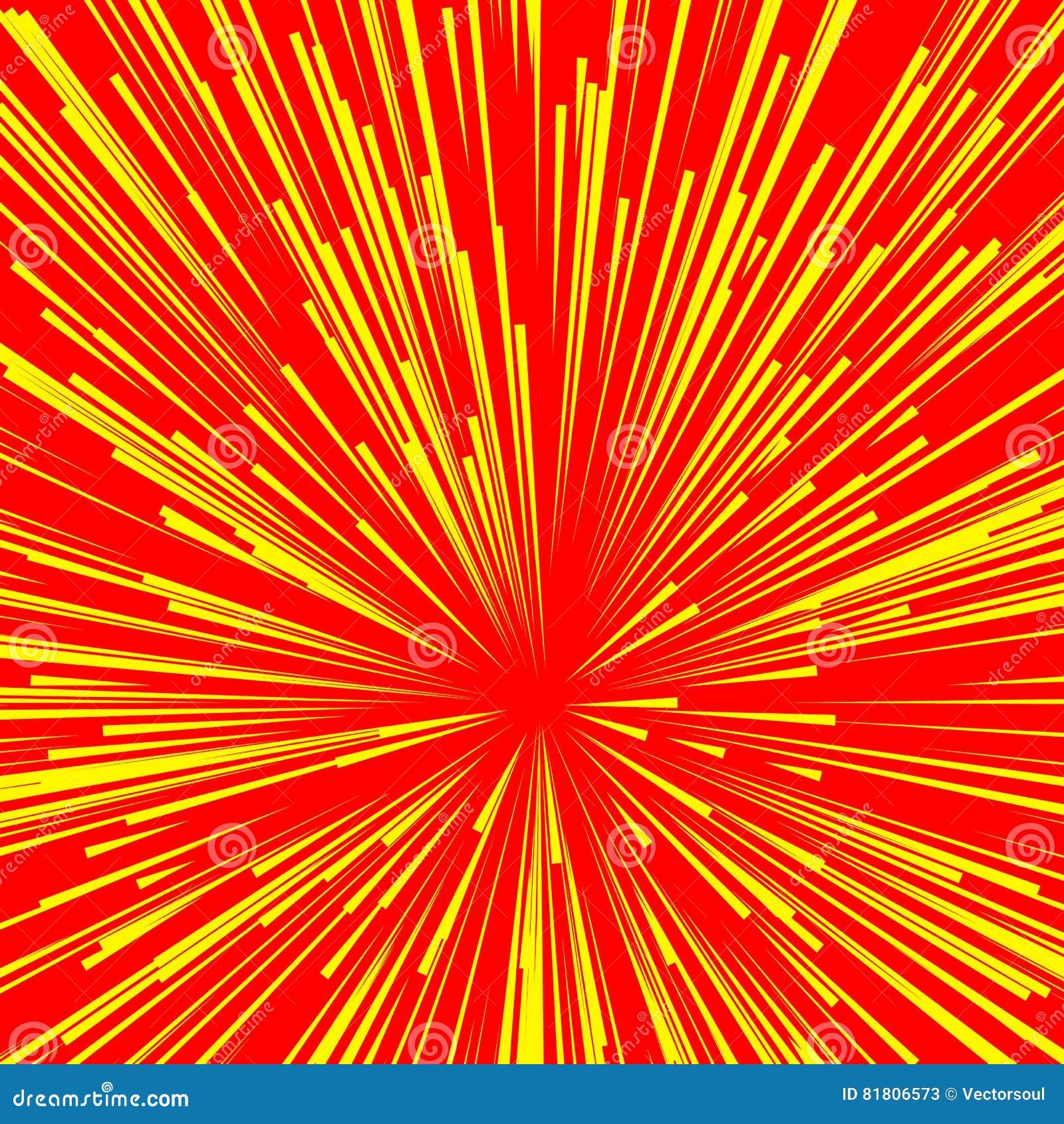 Абстрактный взрыв, взрыв, лучи, лучи, вспышка, яркий блеск, фейерверк