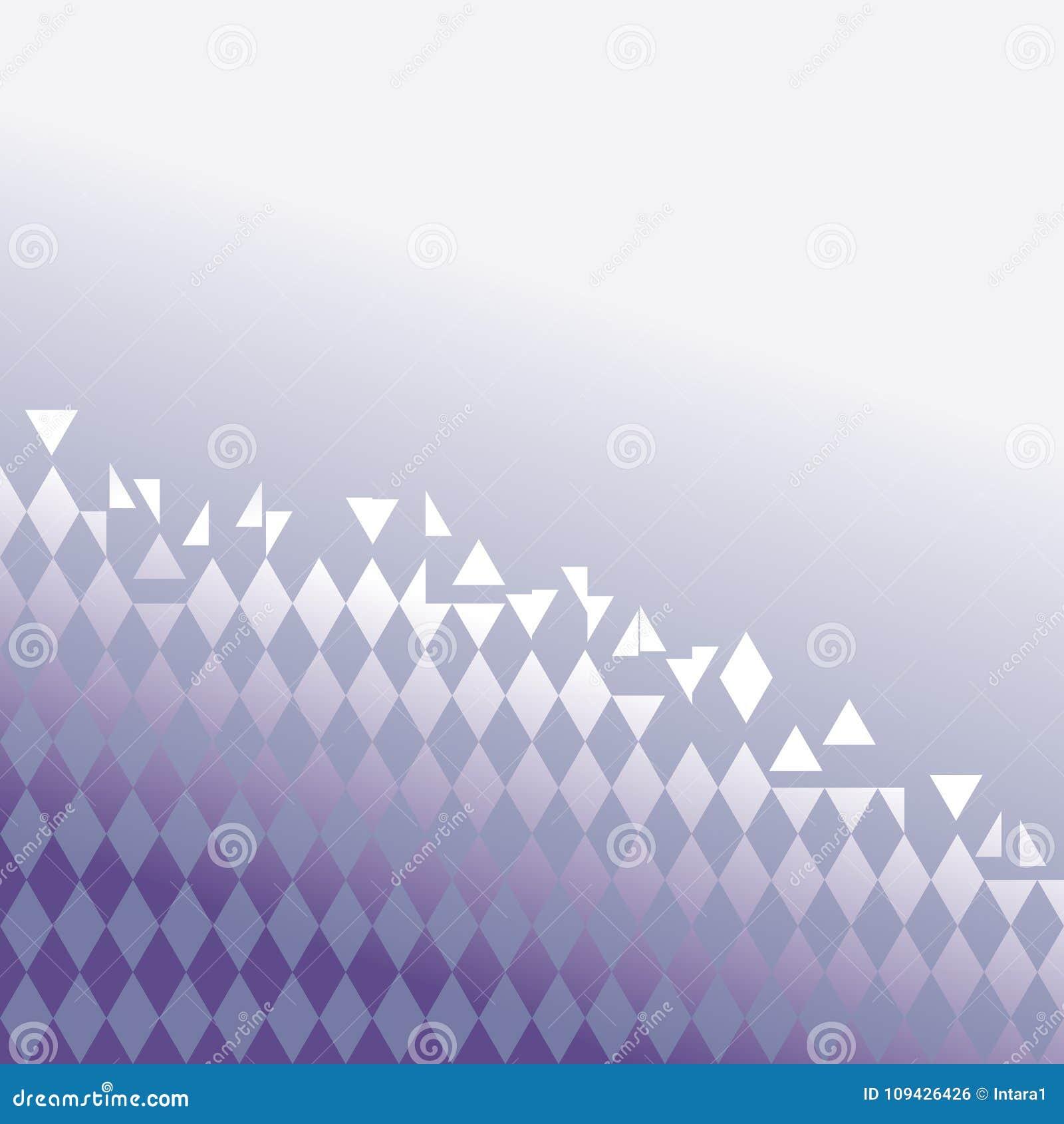 Абстрактный вид решетки в ультрафиолетовом луче градиента - тенденции 2018 цвета также вектор иллюстрации притяжки corel