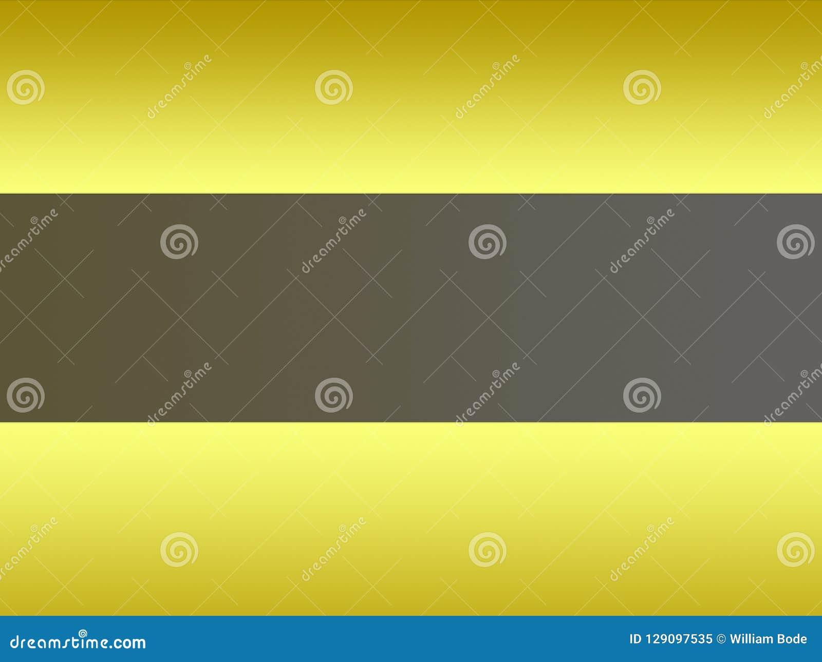 Абстрактный желтый серый подсвеченный свет металла