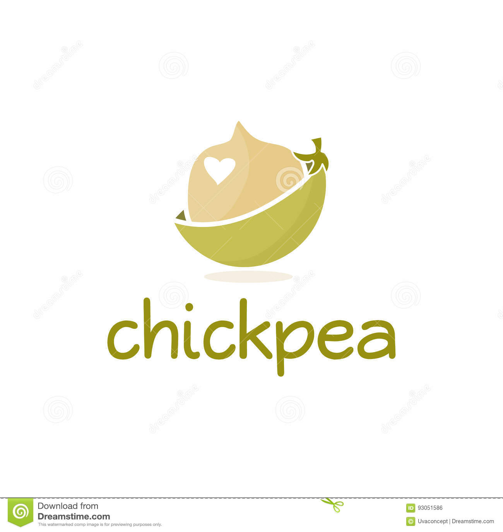 Абстрактный дизайн логотипа шаблона с нутом
