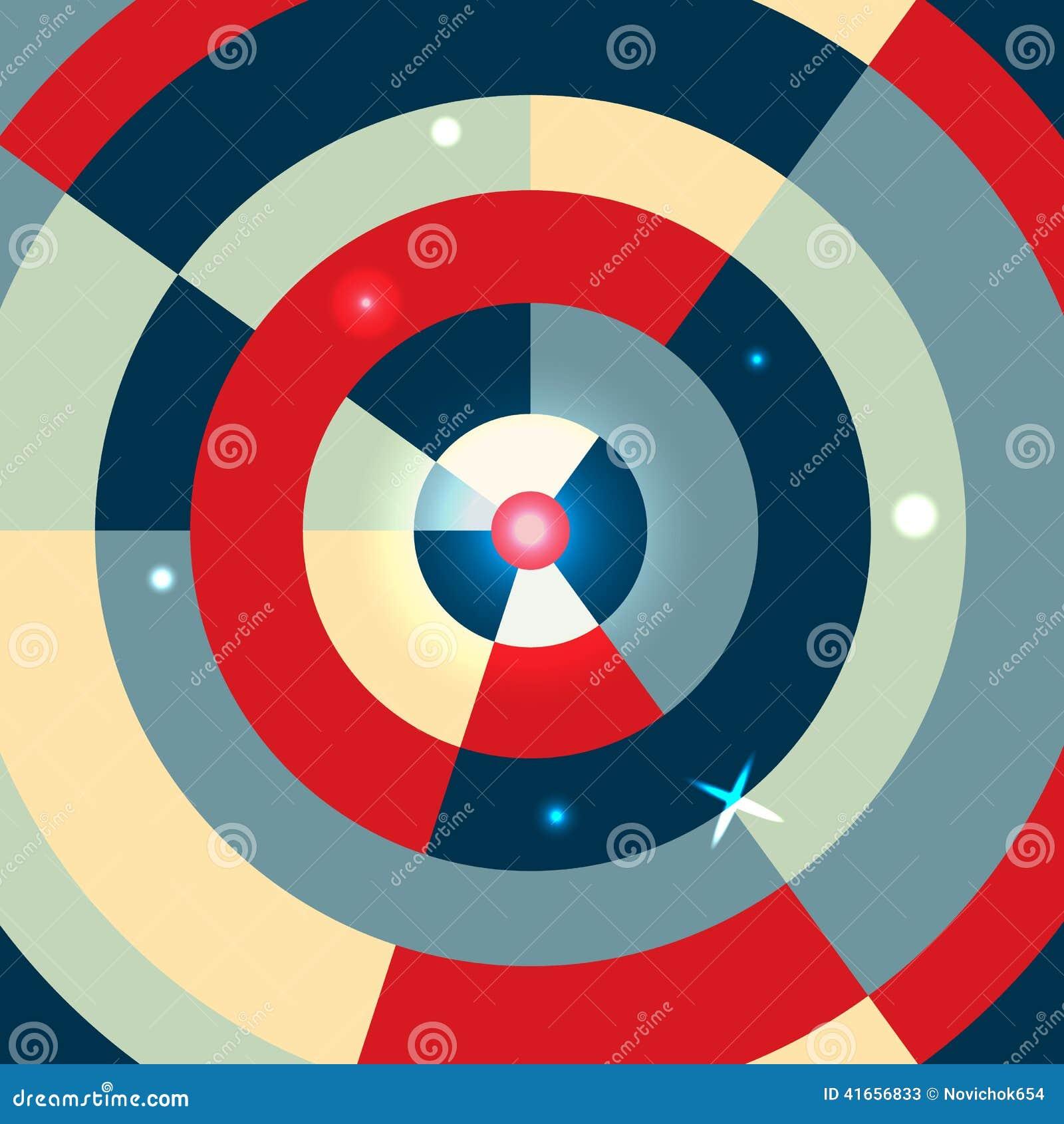 абстрактный круг предпосылки