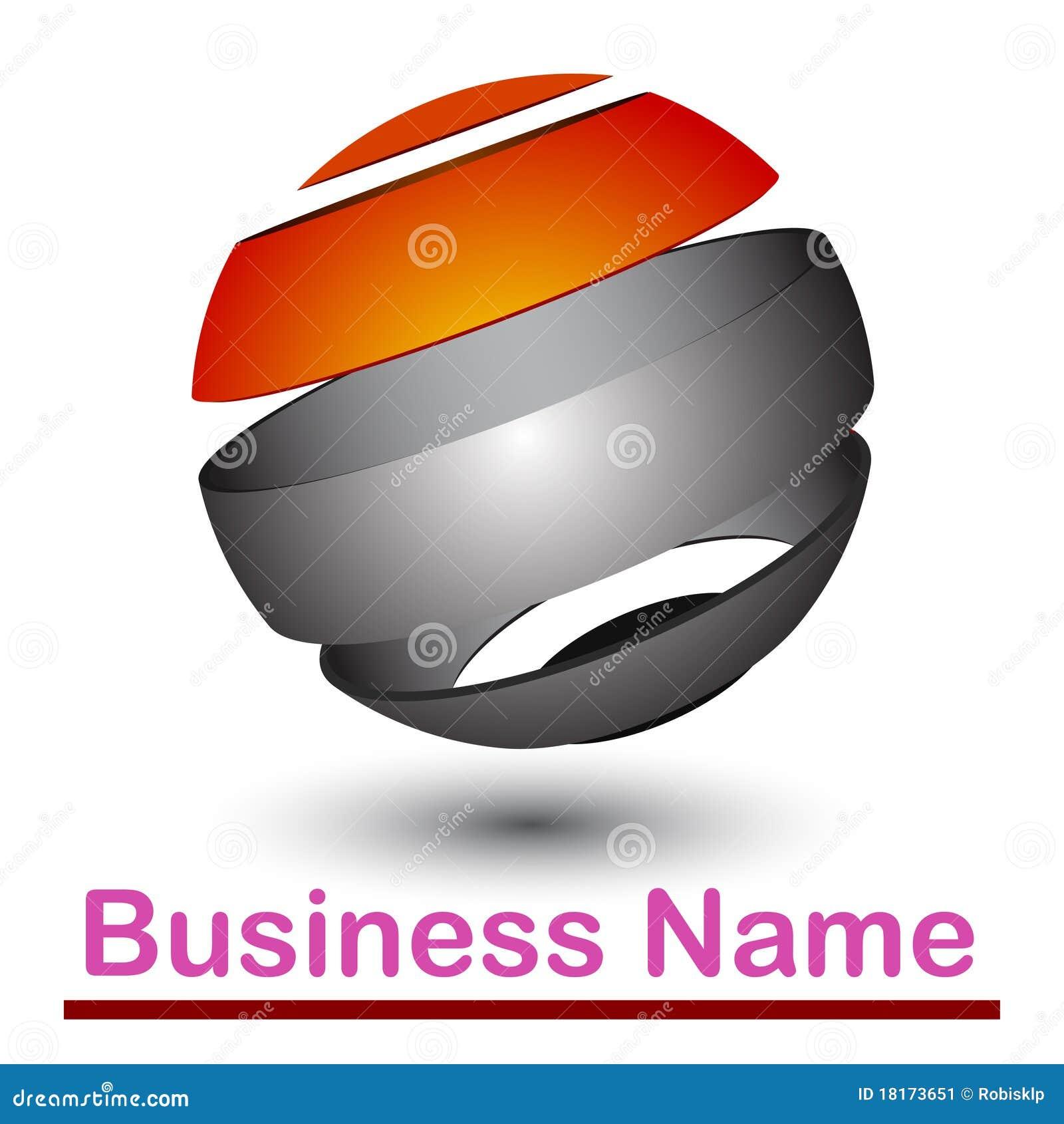 абстрактный логос 3d