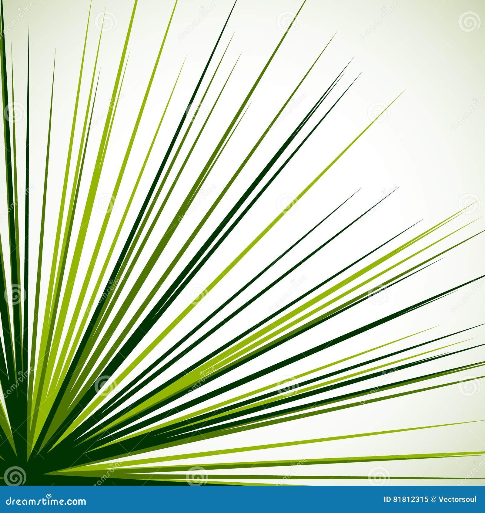 Абстрактный нервный график при радиальные линии распространяя от угла S