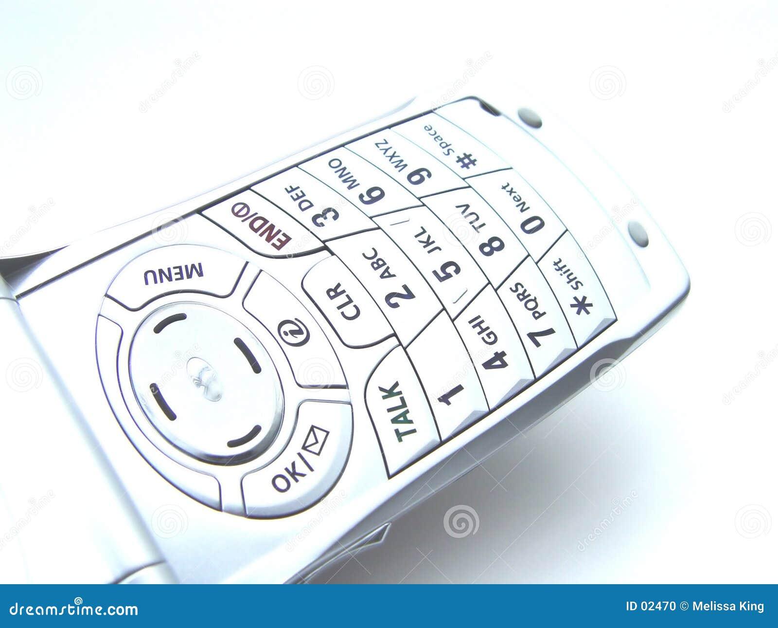 абстрактный сотовый телефон