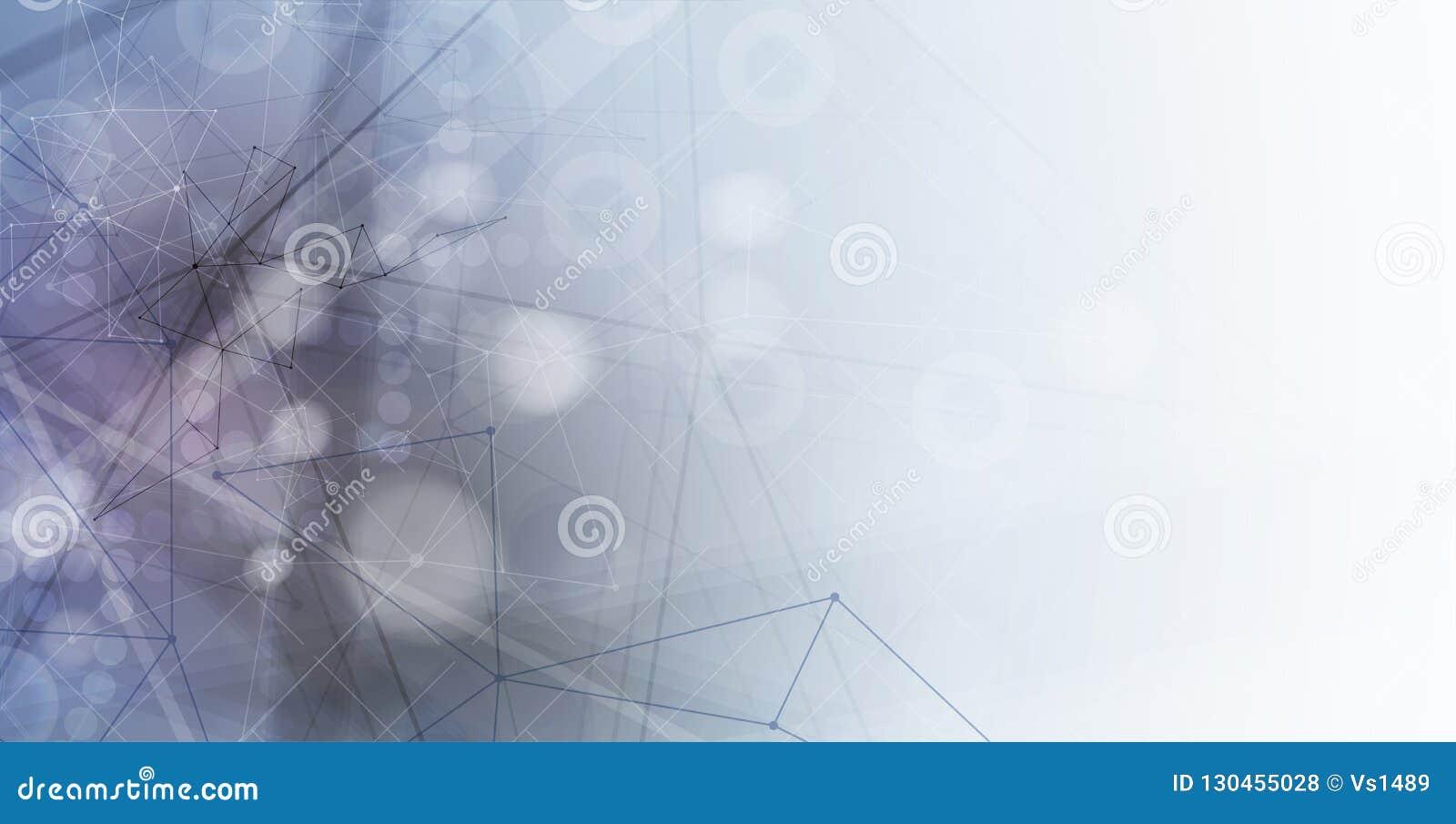 абстрактный техник предпосылки Футуристический интерфейс технологии