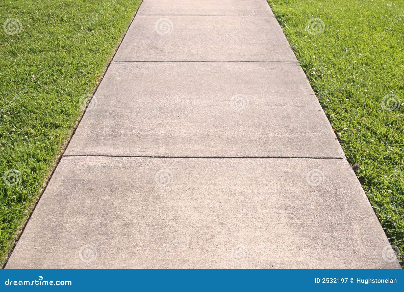 абстрактный тротуар травы