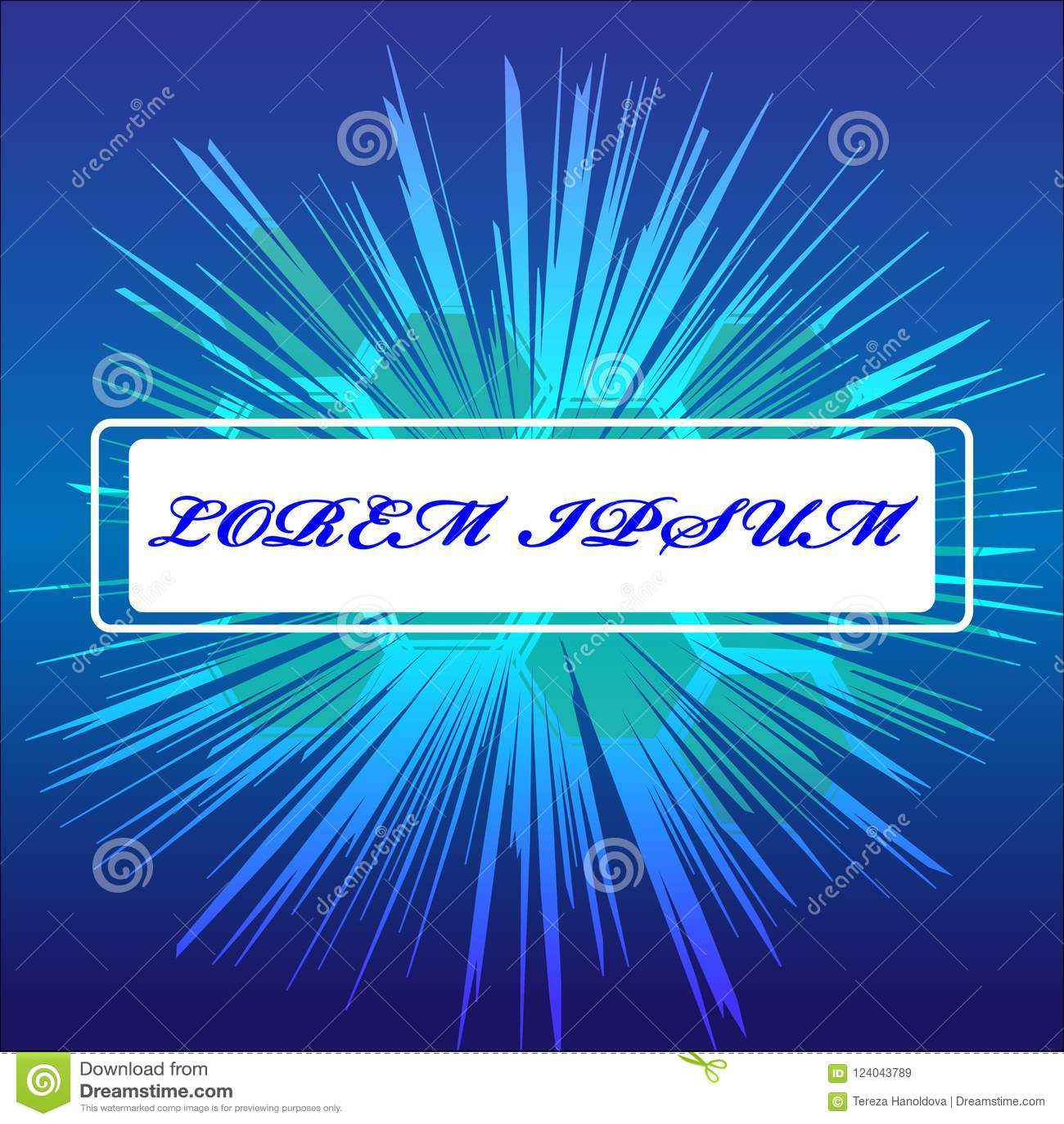 Абстрактный ярлык изолированный на голубой предпосылке