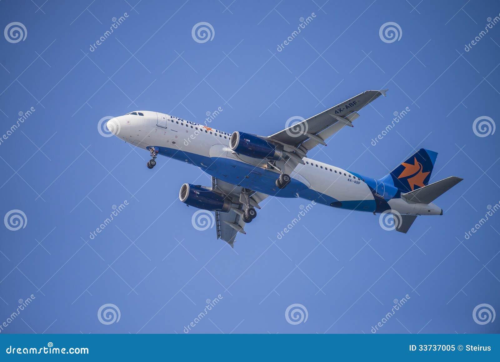 Авиакомпании Israir, Израиль, аэробус a320-232