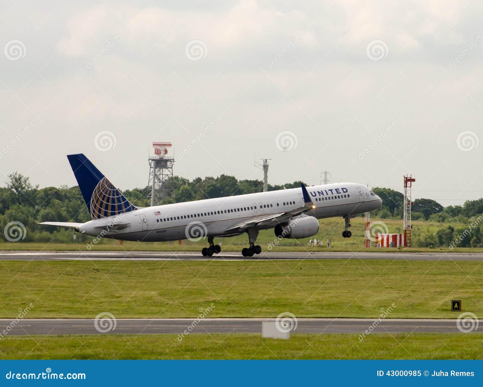 757 авиакомпаний соединенный Боинг