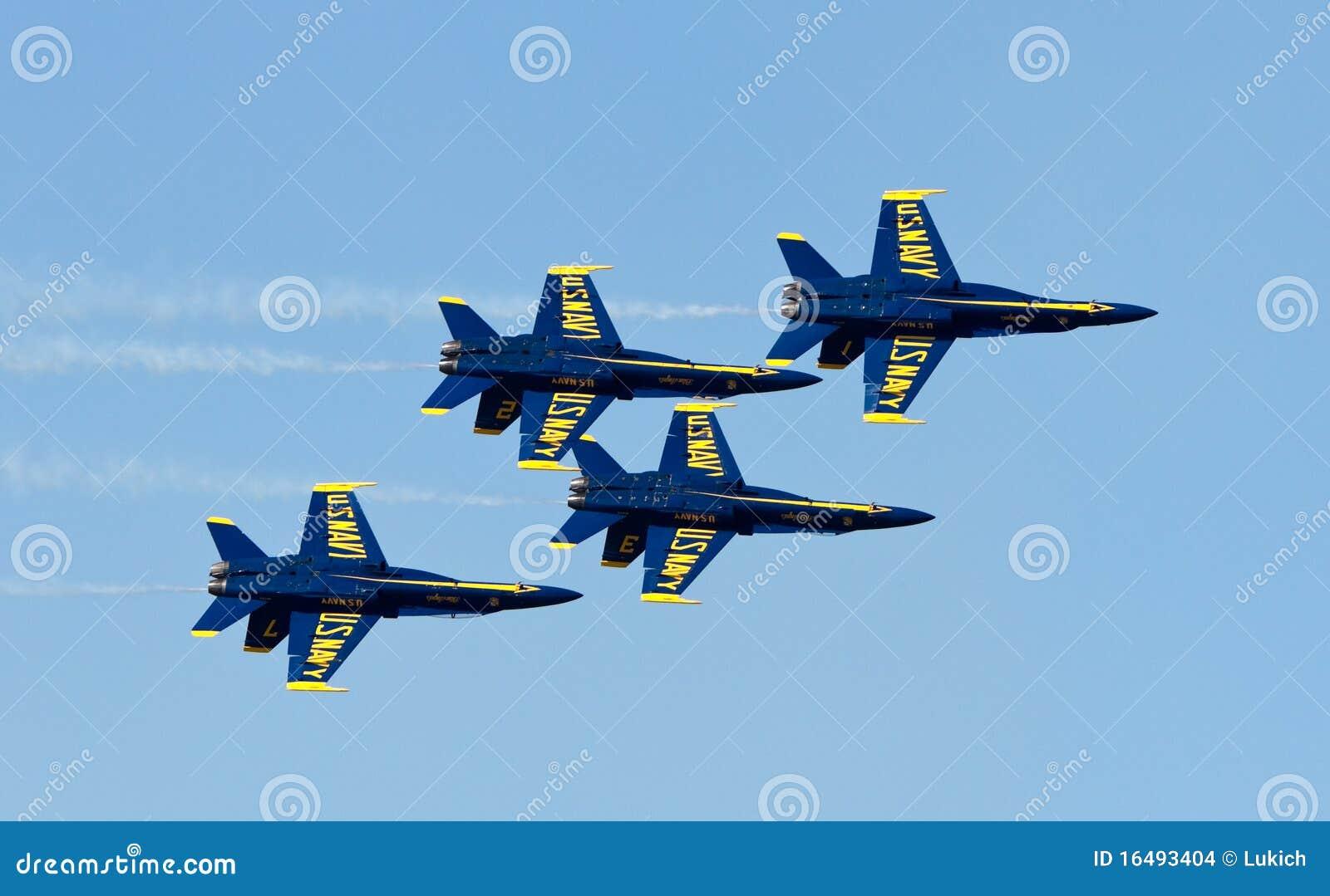 авиаотряд военно-морского флота демонстрации ангелов голубой мы