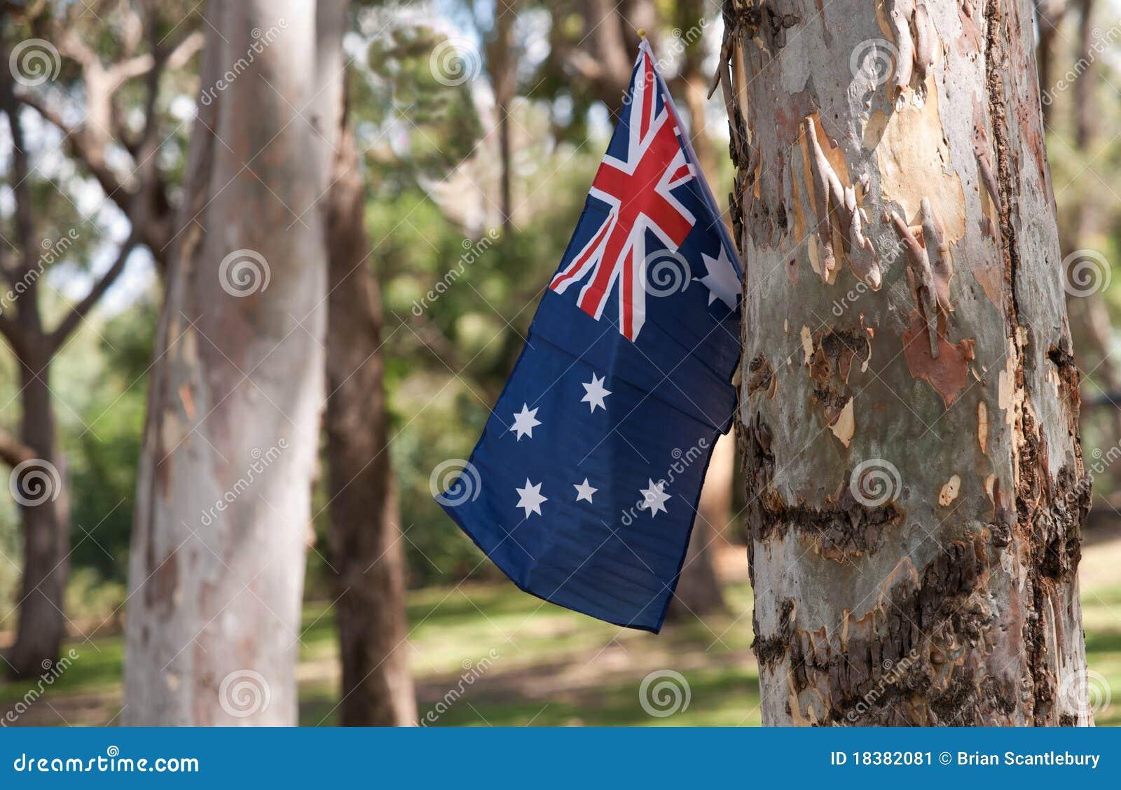австралийские валы флага