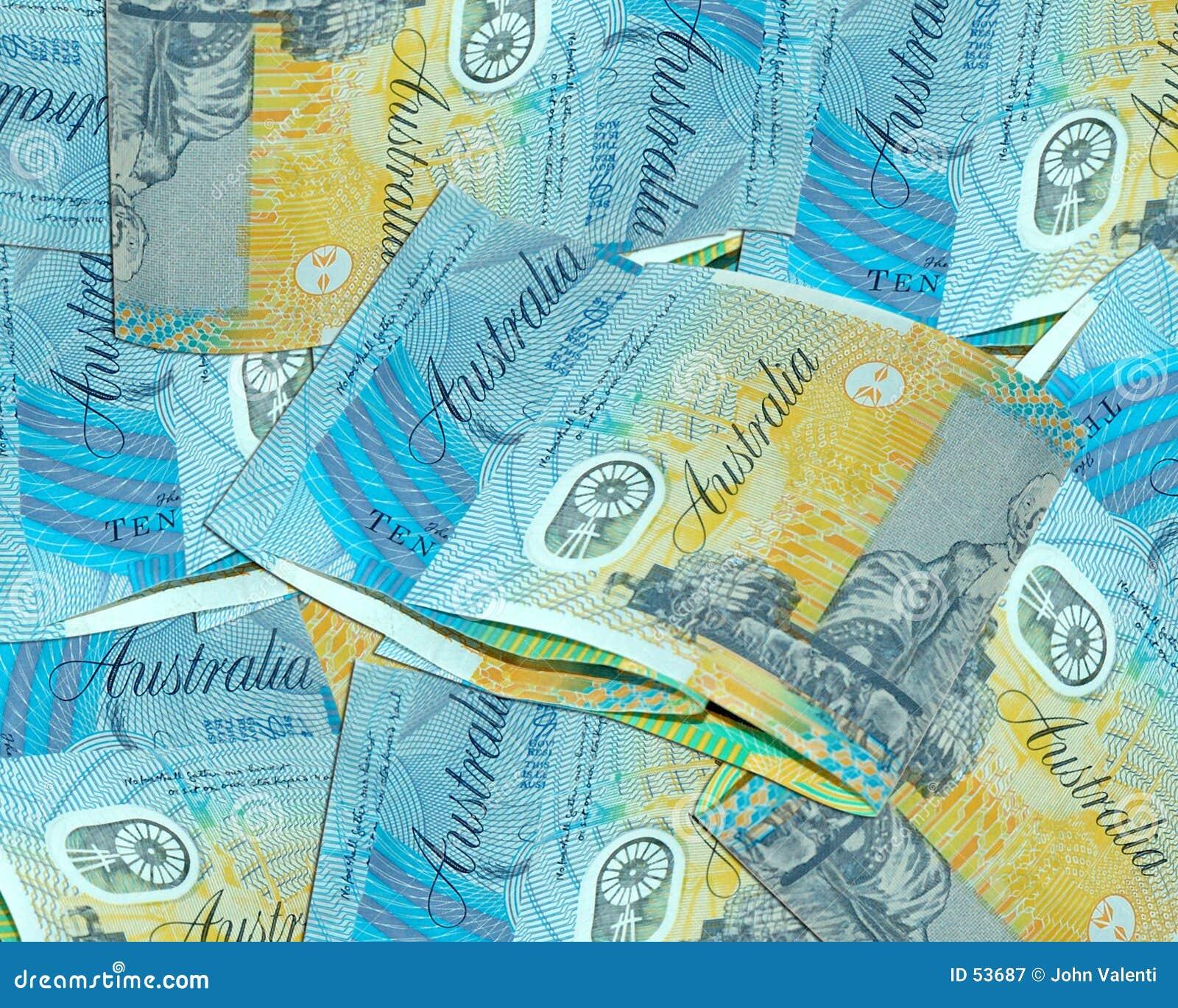 австралийские доллары 10
