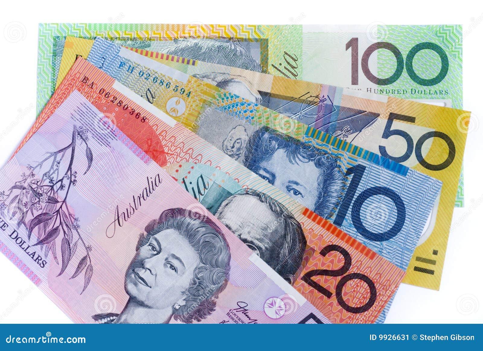 австралийские наличные деньги