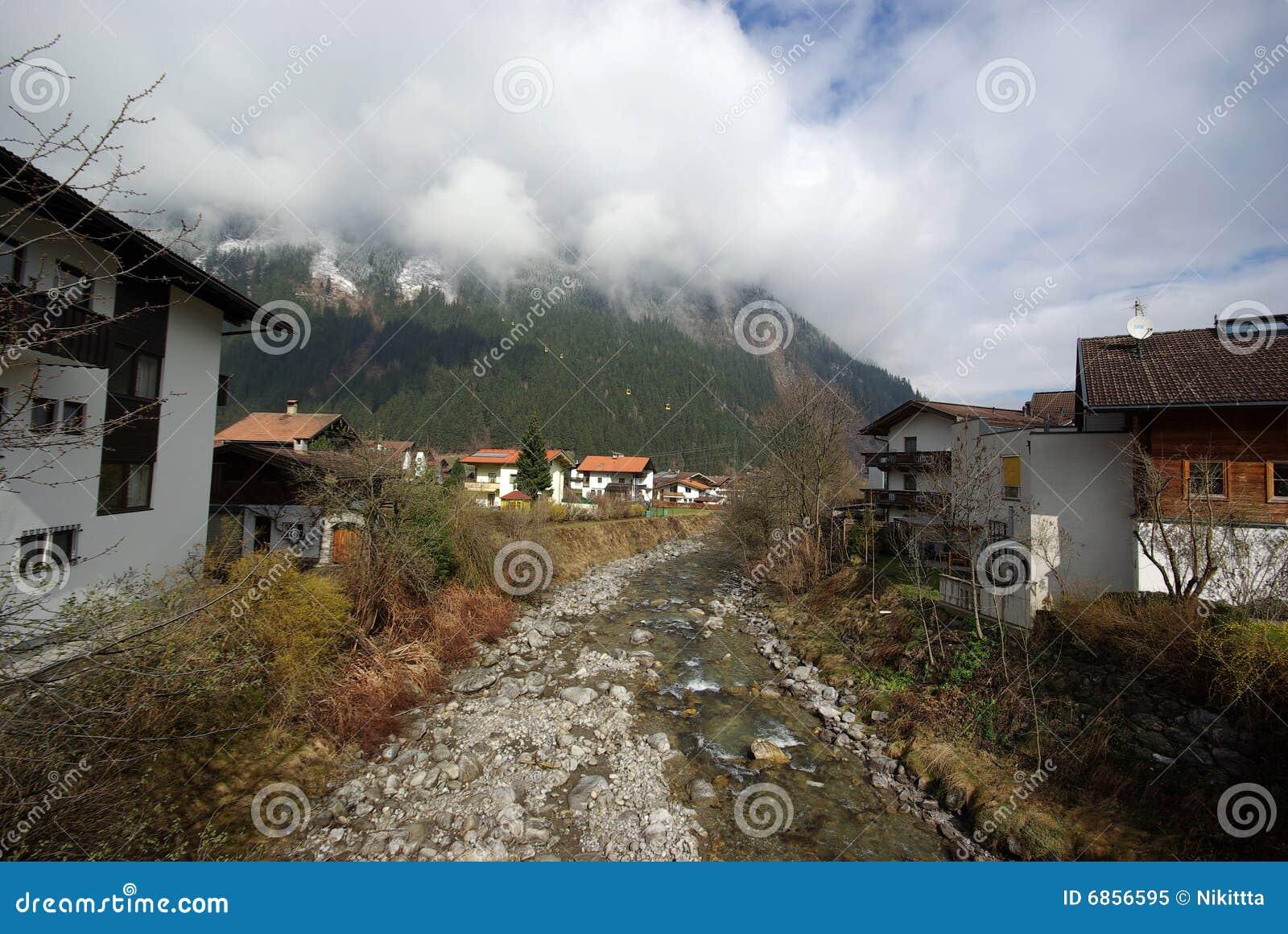 Австралия mayrhofen село лыжи курорта малое