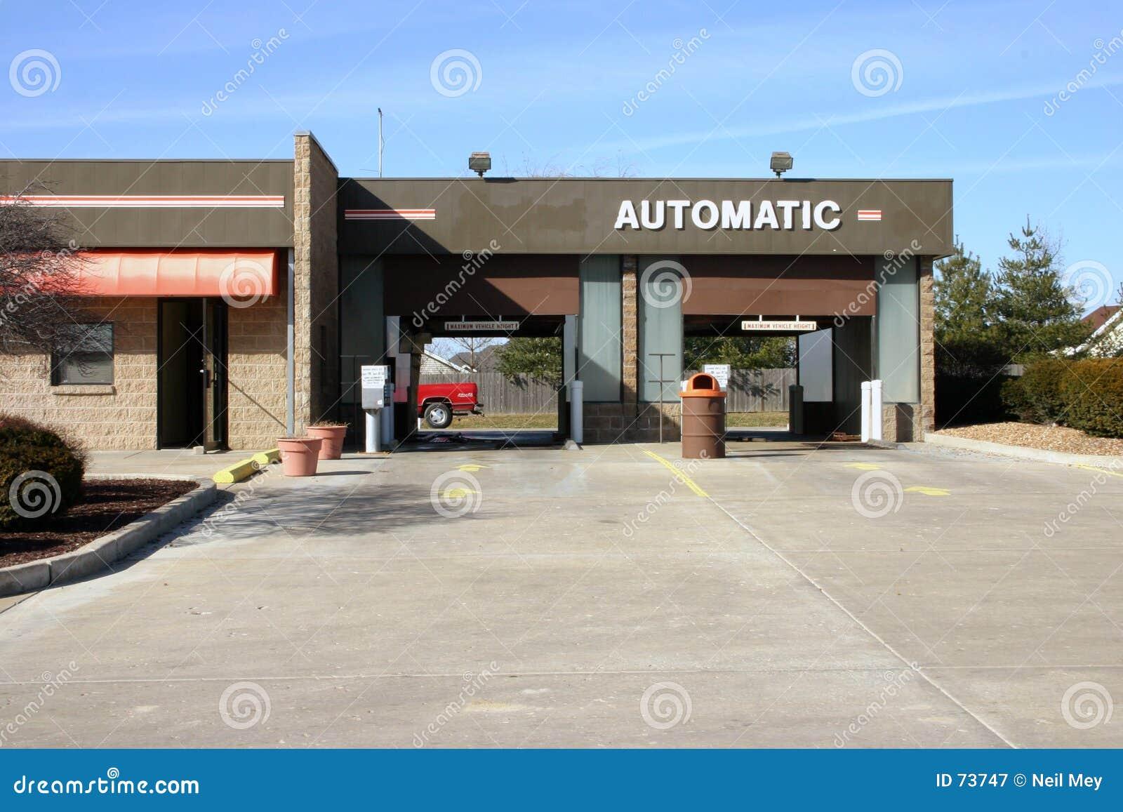 автоматическая мойка машин