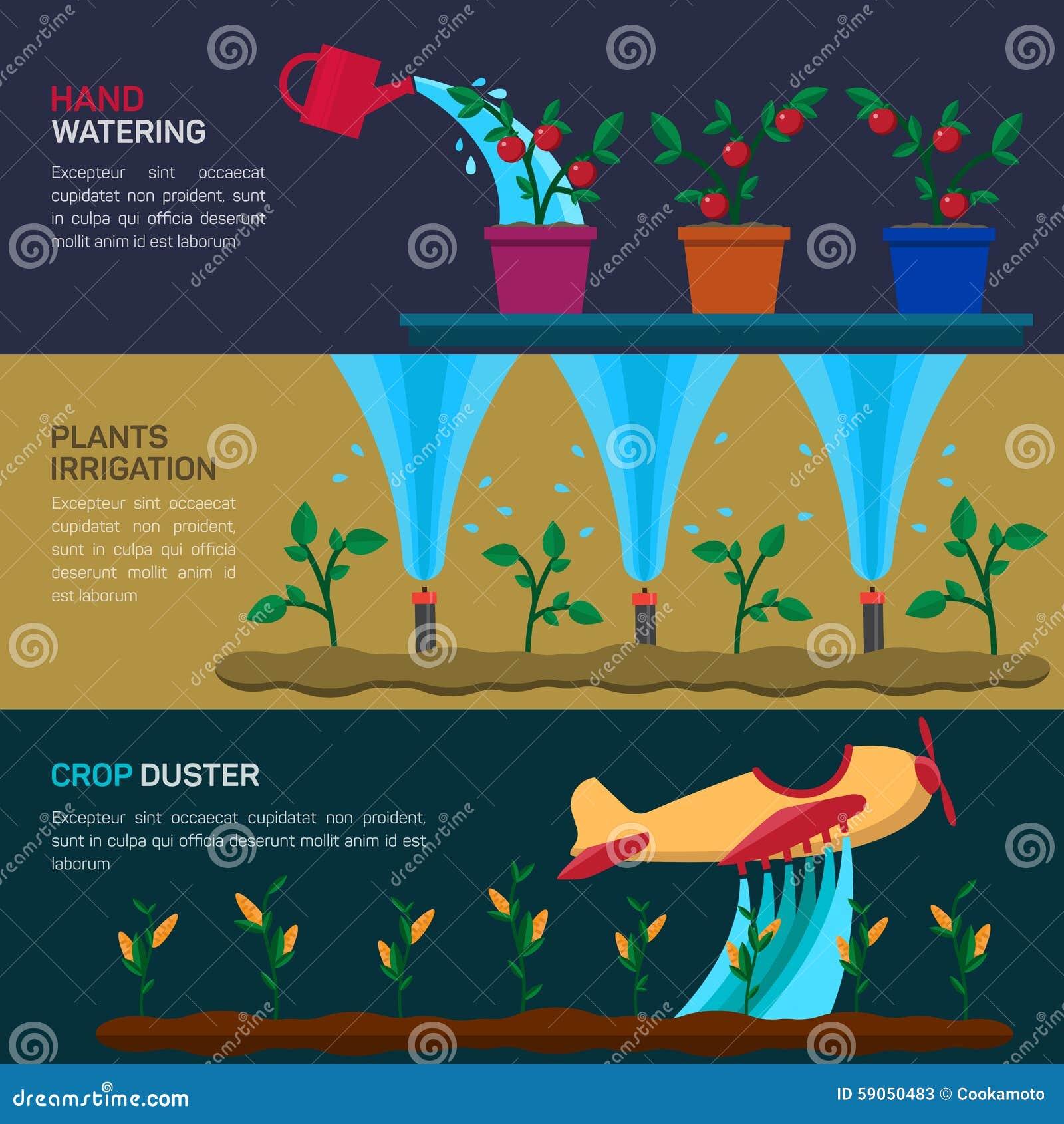 Автоматический мочить спринклеров Сельское хозяйство