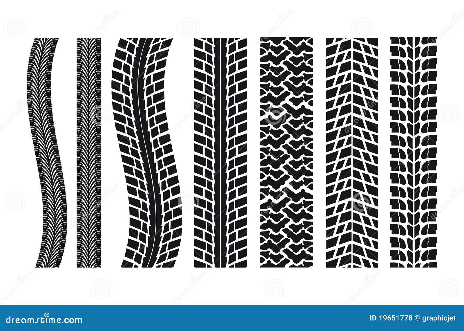 фото следы колес векторное тем