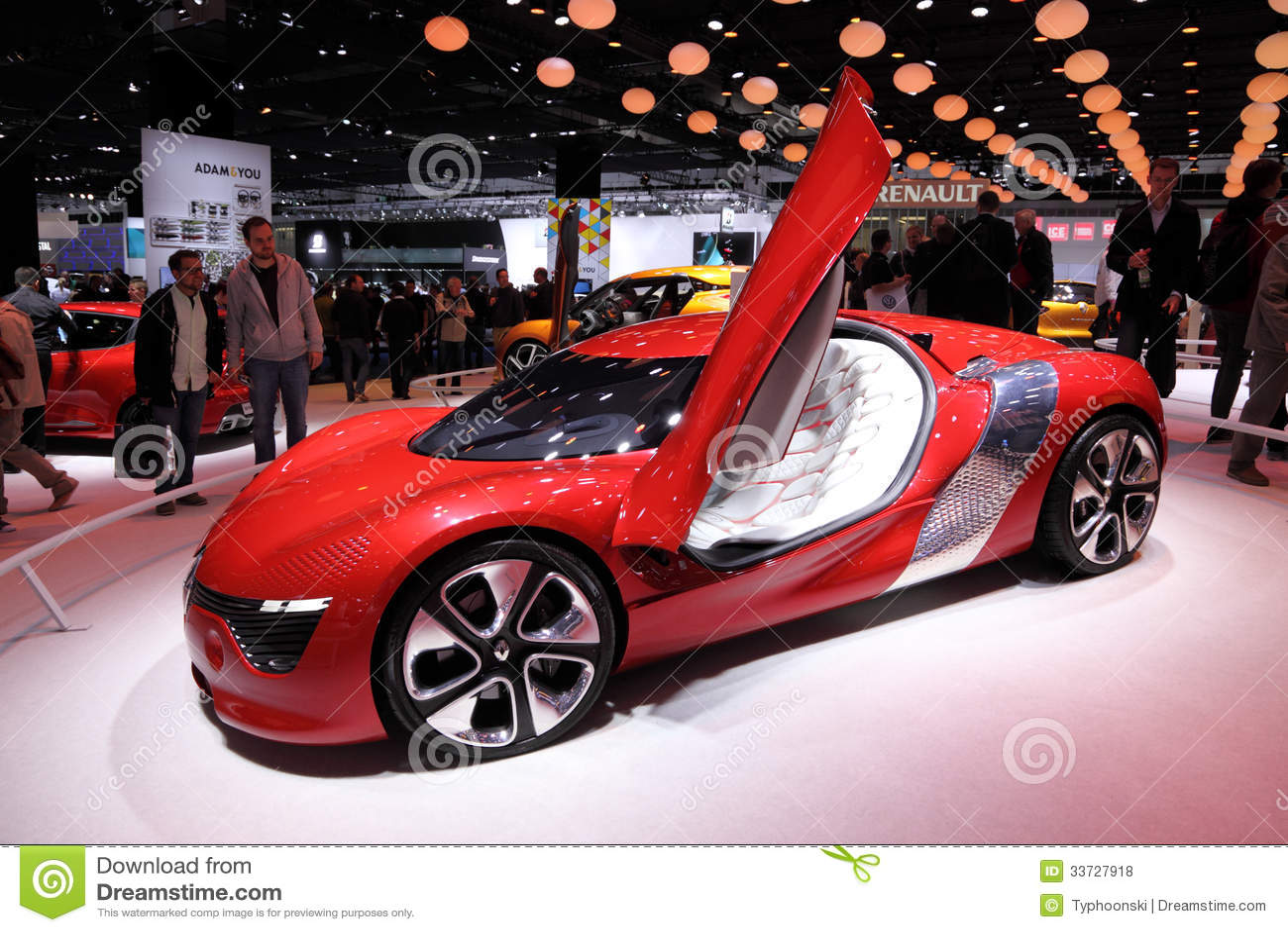 Автомобиль концепции Renault Dezir