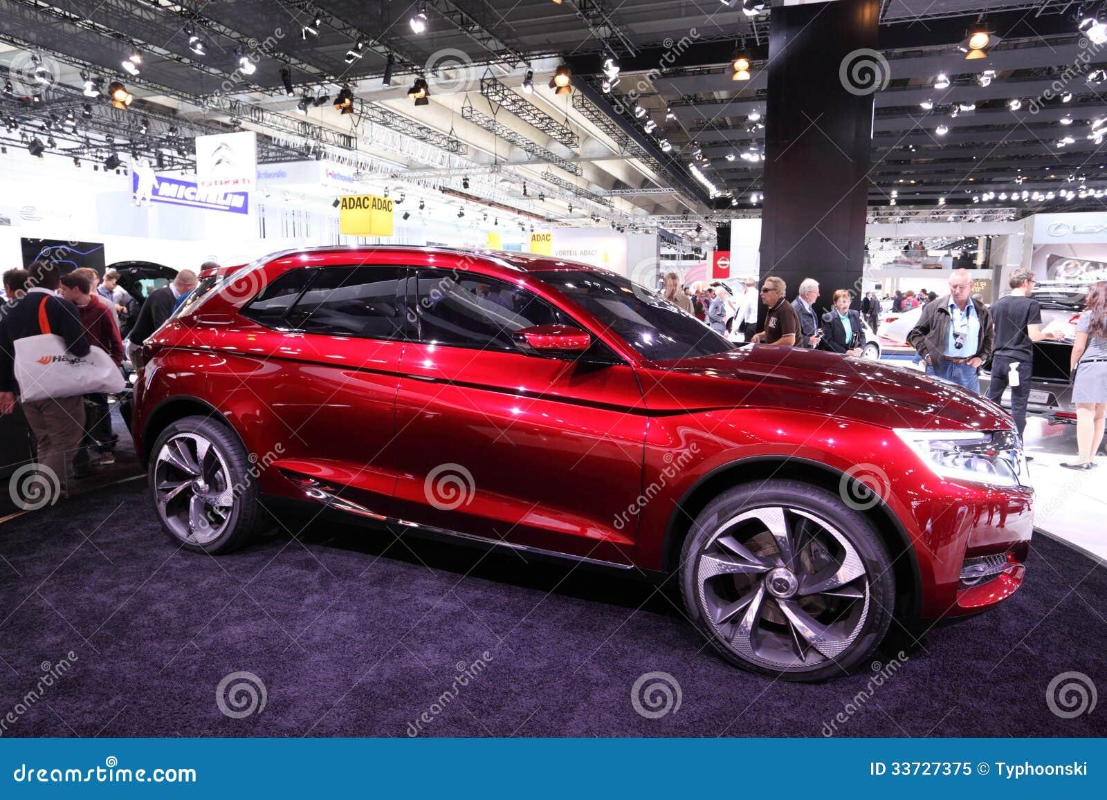 Автомобиль принципиальной схемы Citroen одичалый Rubis