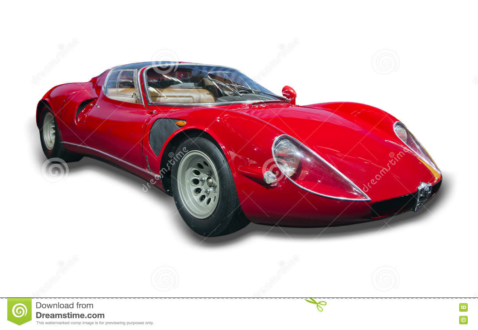автомобиль 1968 33 спорт Romeo альфы Stradale
