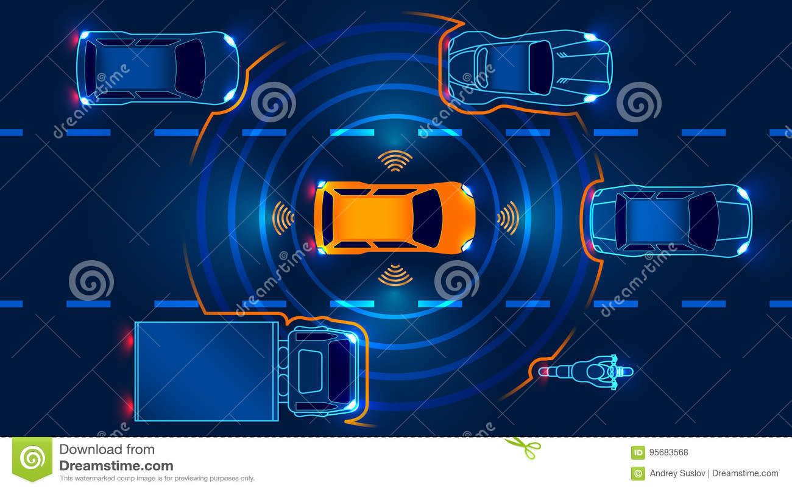 Автономный умный автомобиль