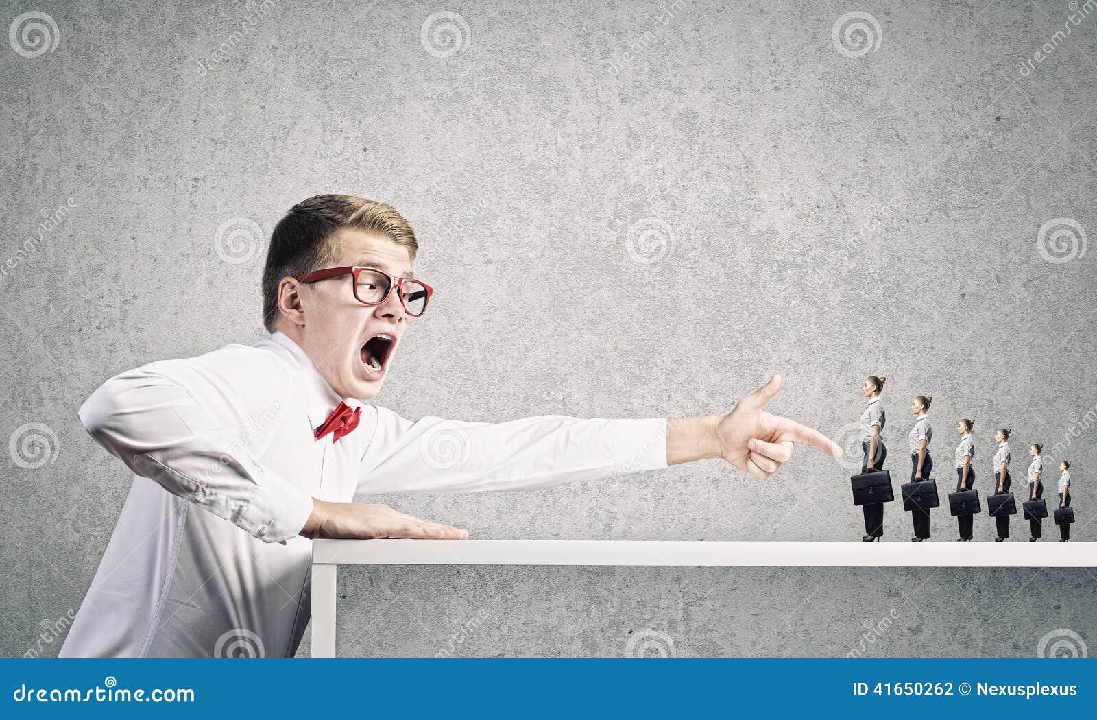 Агрессивный босс