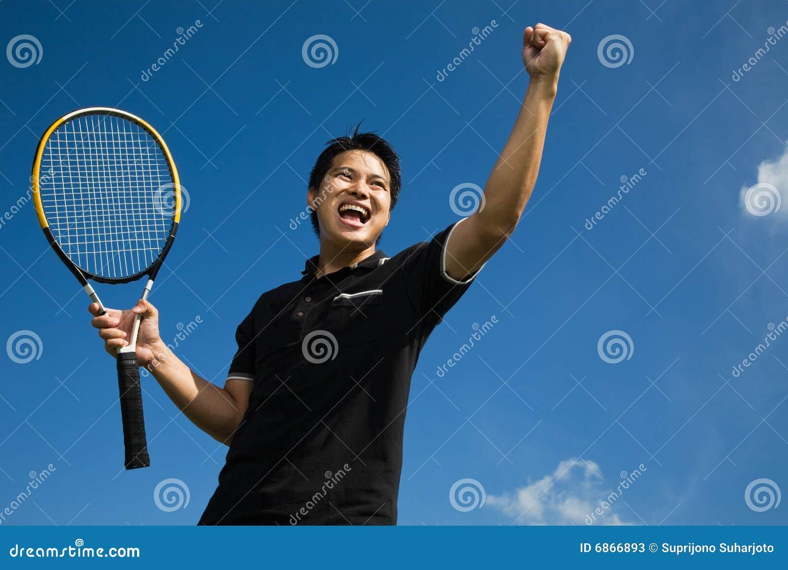 азиатская победа тенниса игрока утехи