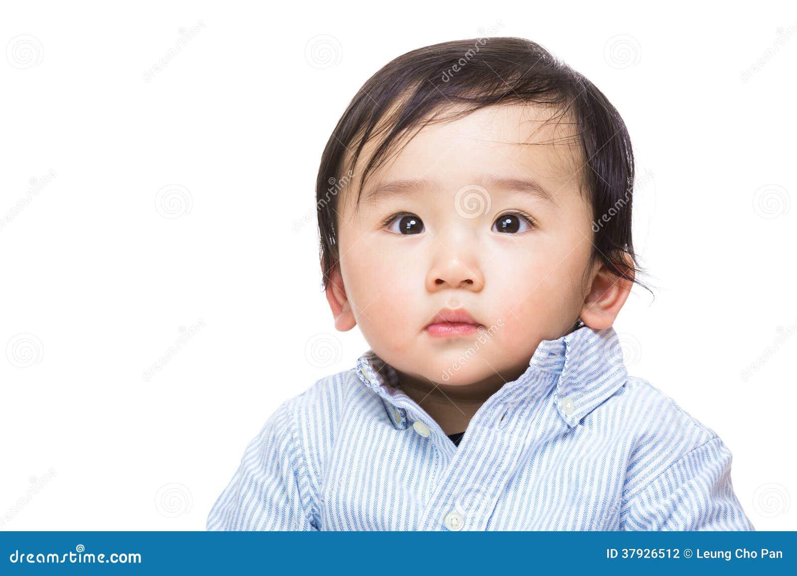 Азиатский портрет ребёнка