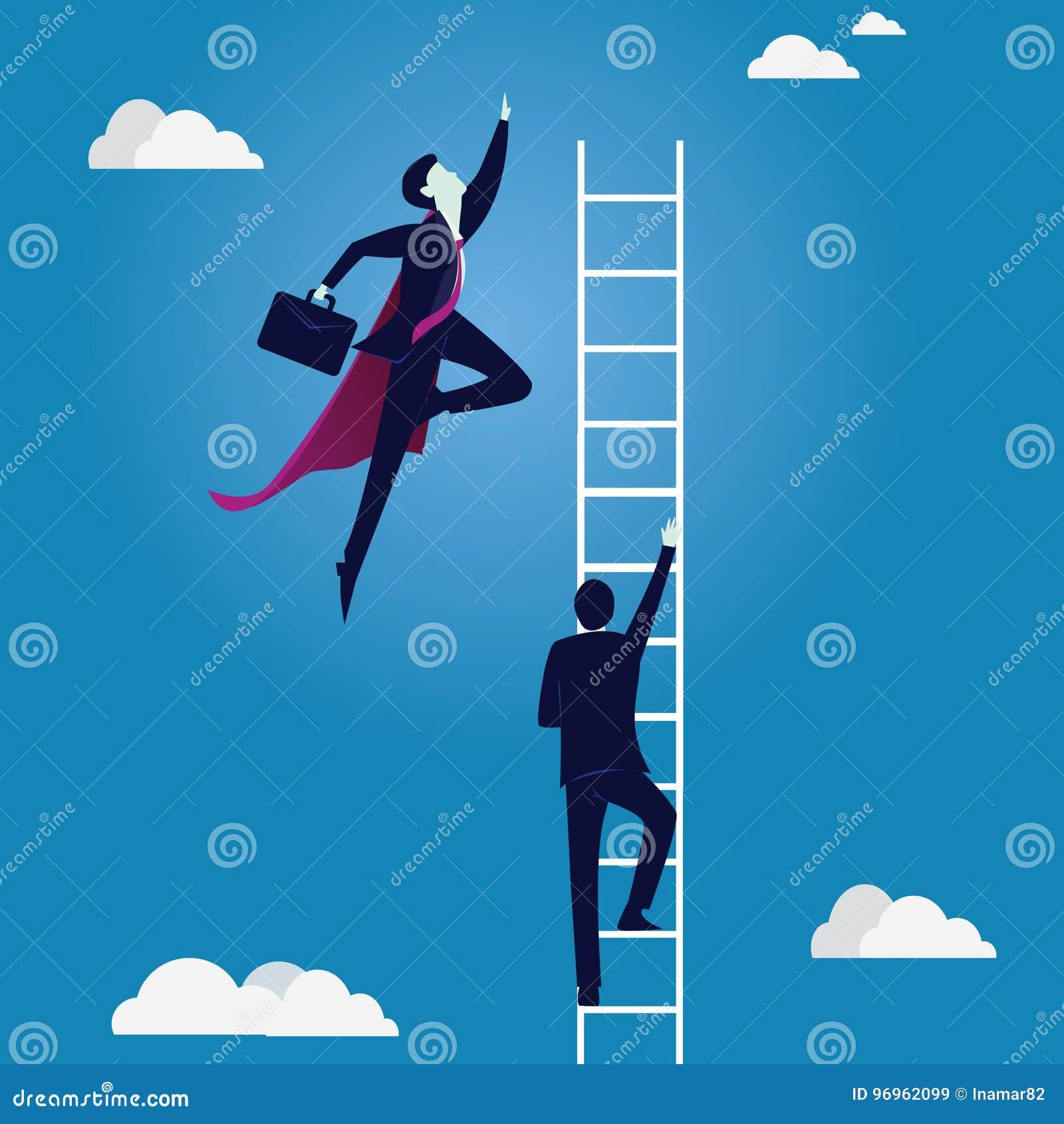 азиат за молотком принципиальной схемы конкуренции бизнесмена дела bowing держа 2 Супер работник нормального удара бизнесмена