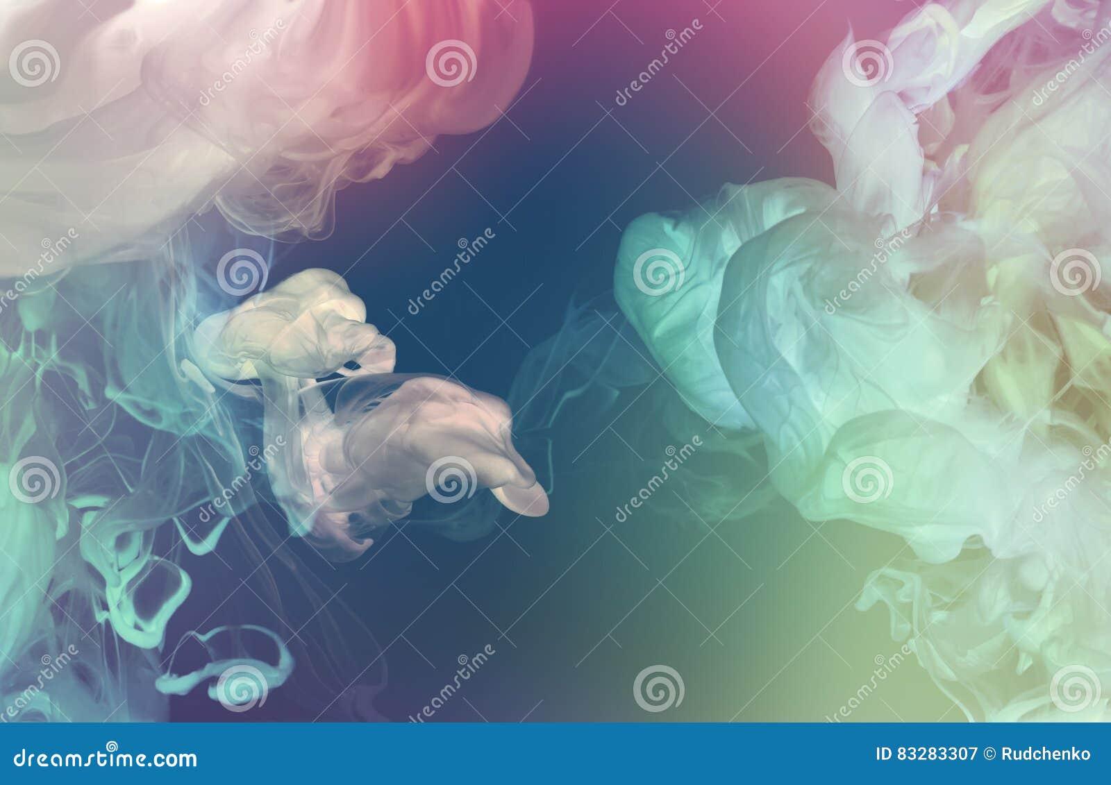 Акриловые цветы в воде Аннотация