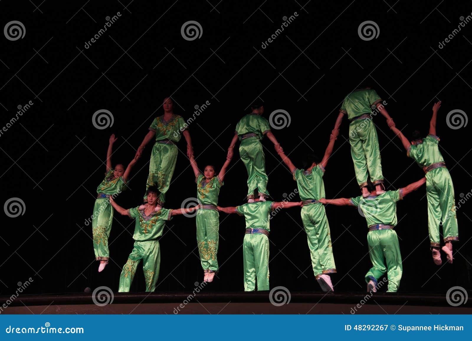 акробаты китайские