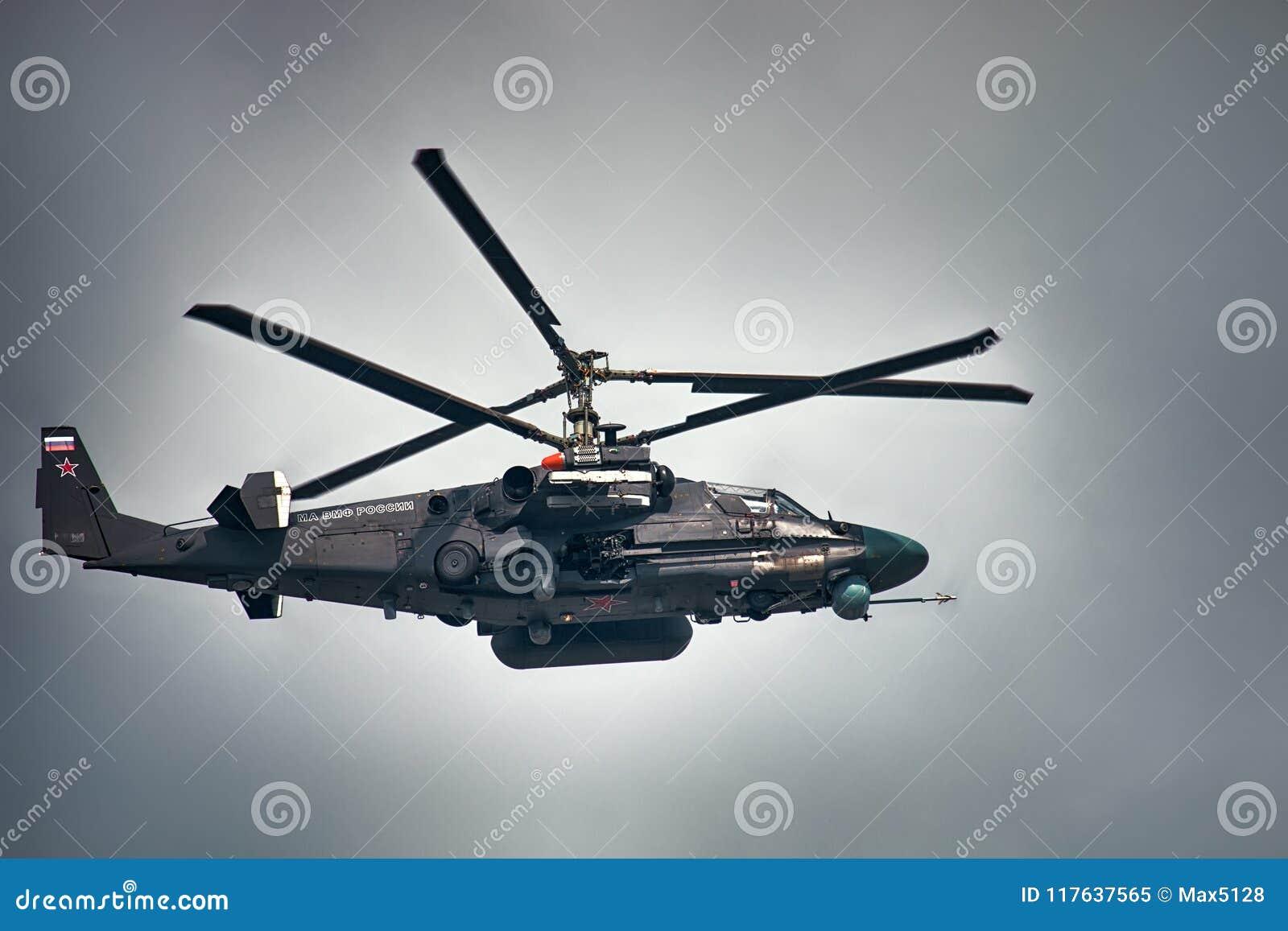 Аллигатор Ka-52 Русская рекогносцировка и штурмовой вертолет
