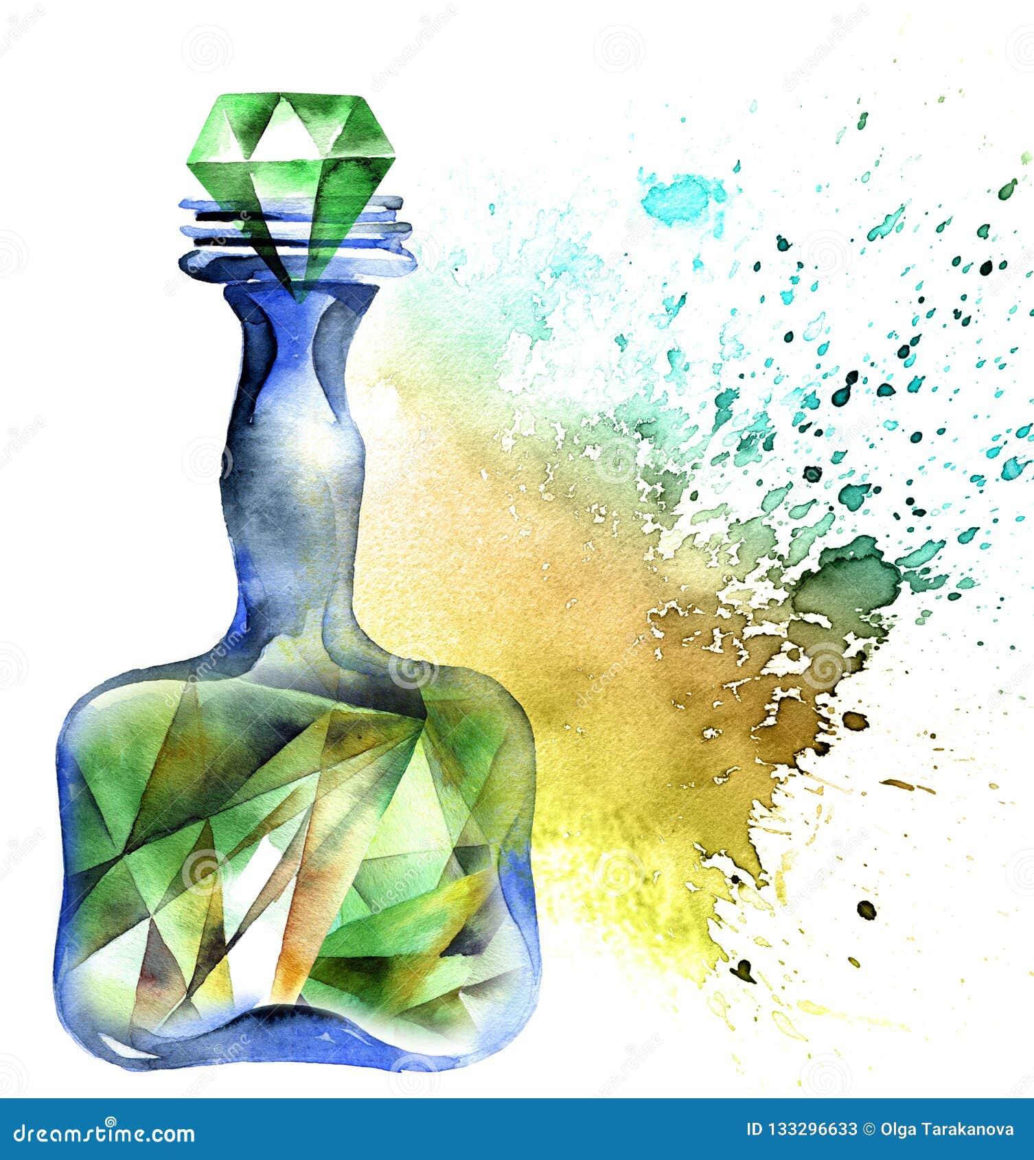 Алхимическая волшебная бутылка