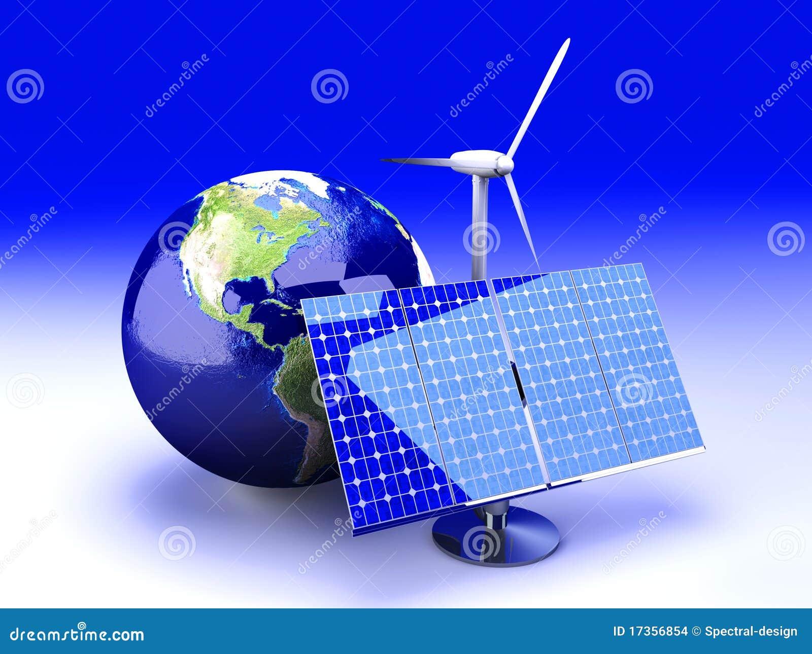 альтернативная энергия США