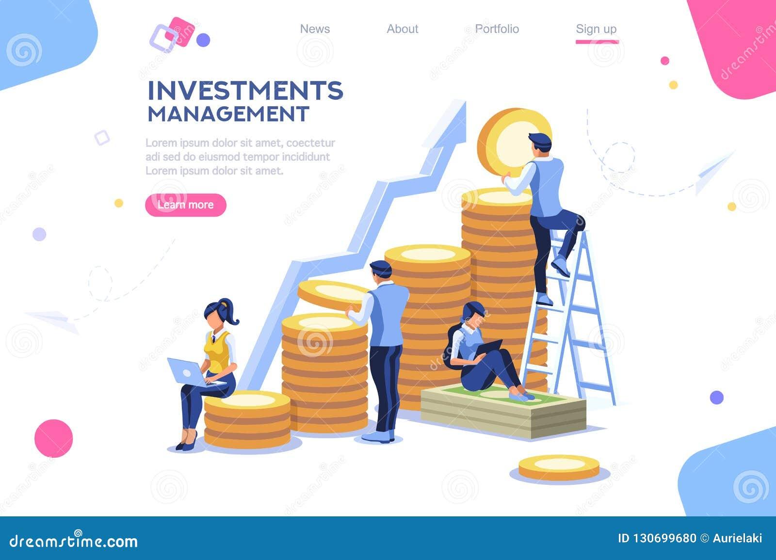 Альтернативный прогресс, объявление здания, управление инвестициями для компании