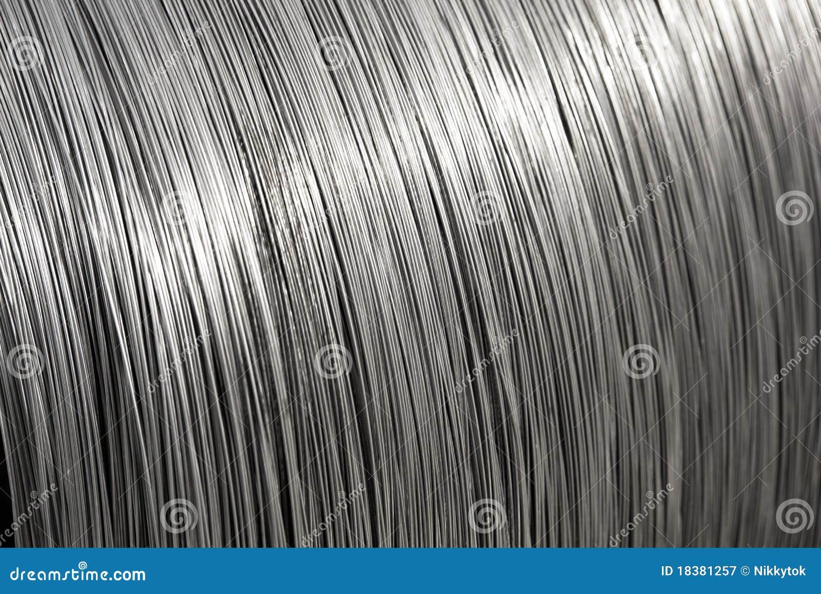 алюминиевый провод текстуры катышкы