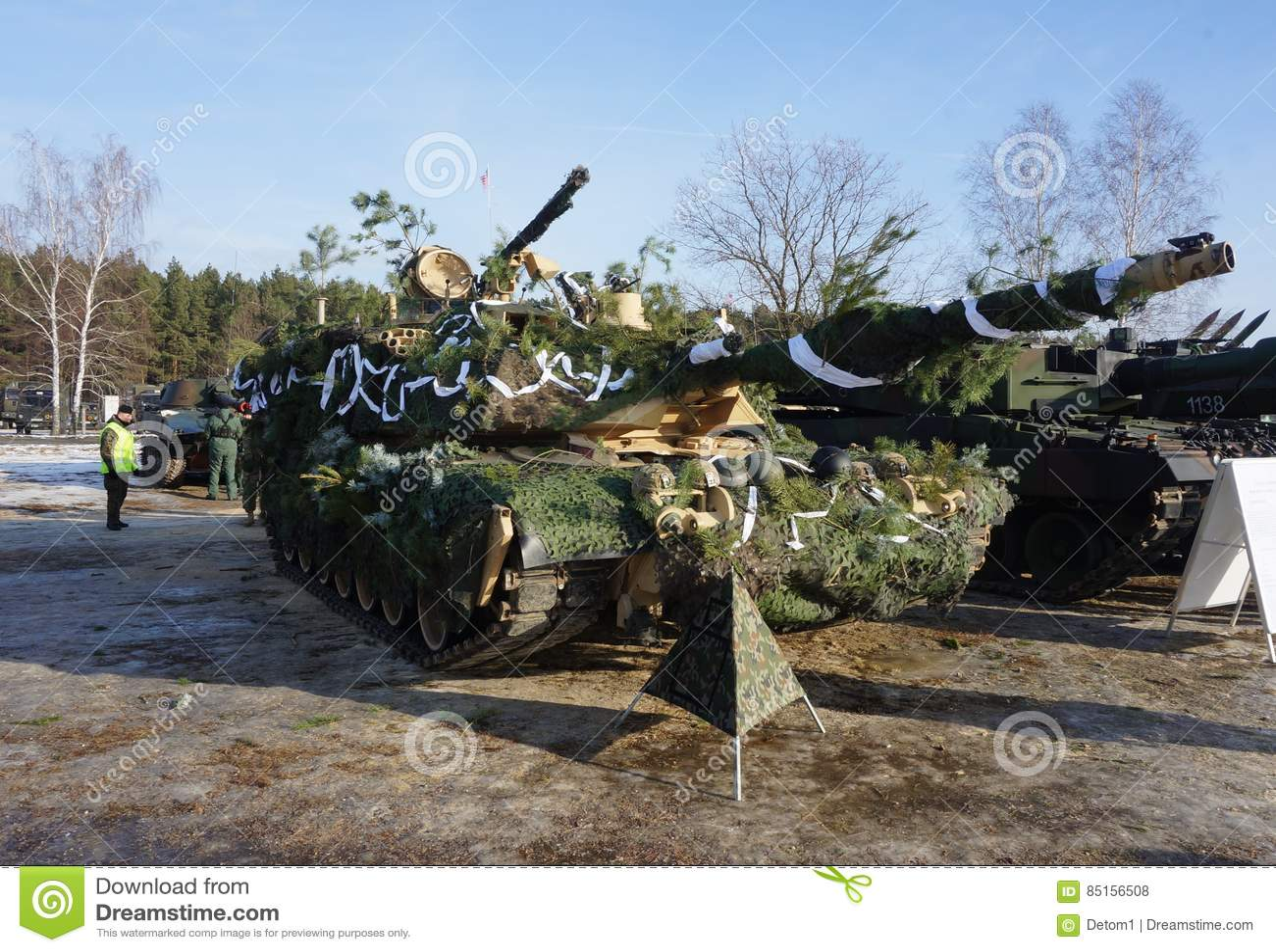 Американец Abrams в Польше