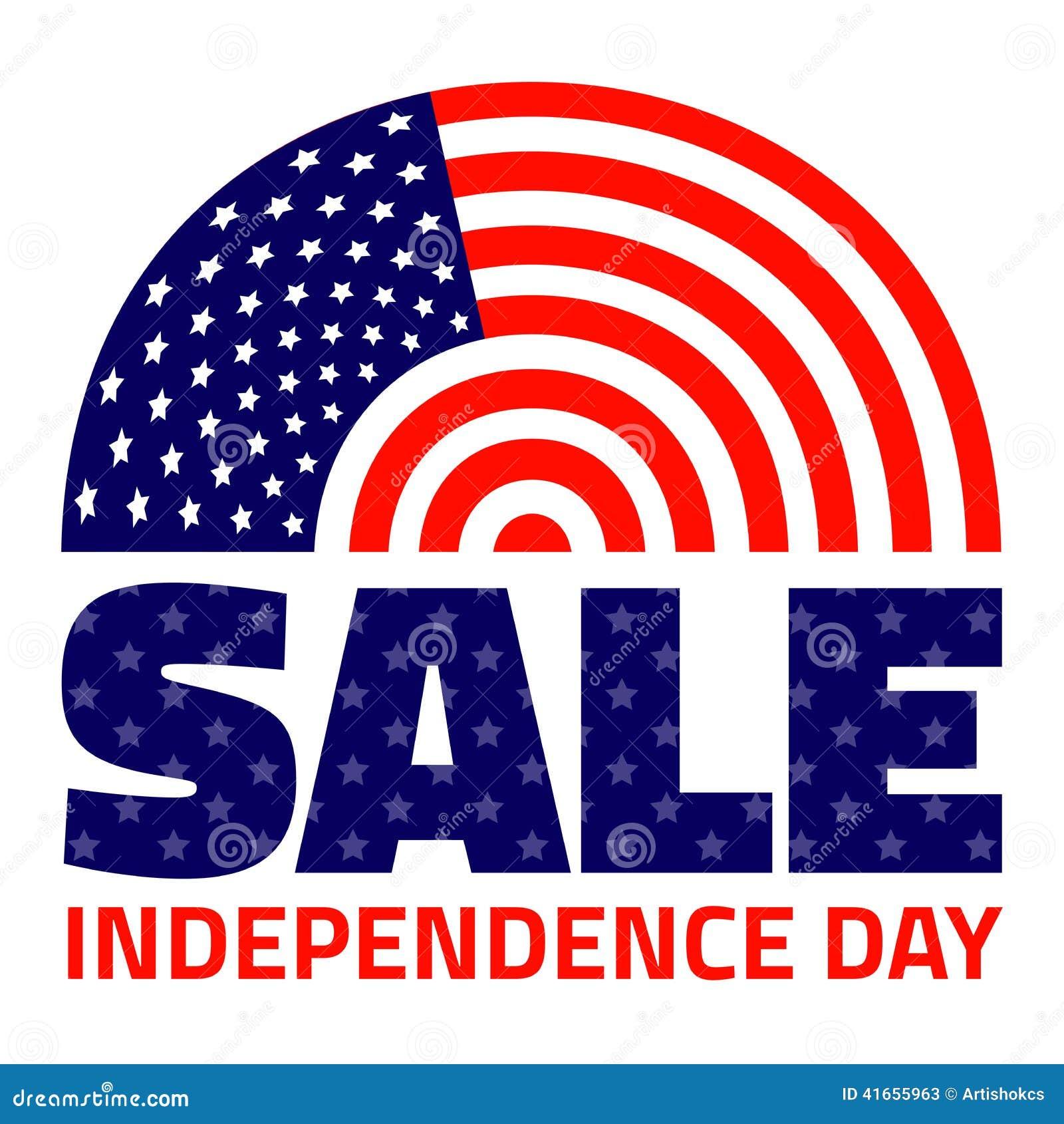 Американская продажа Дня независимости