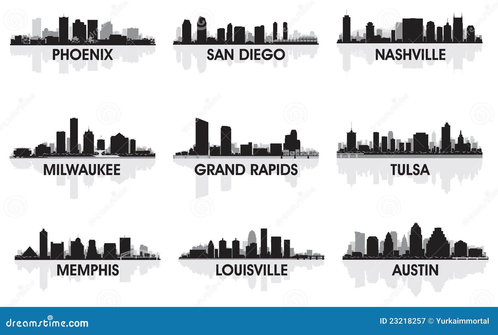 американские города